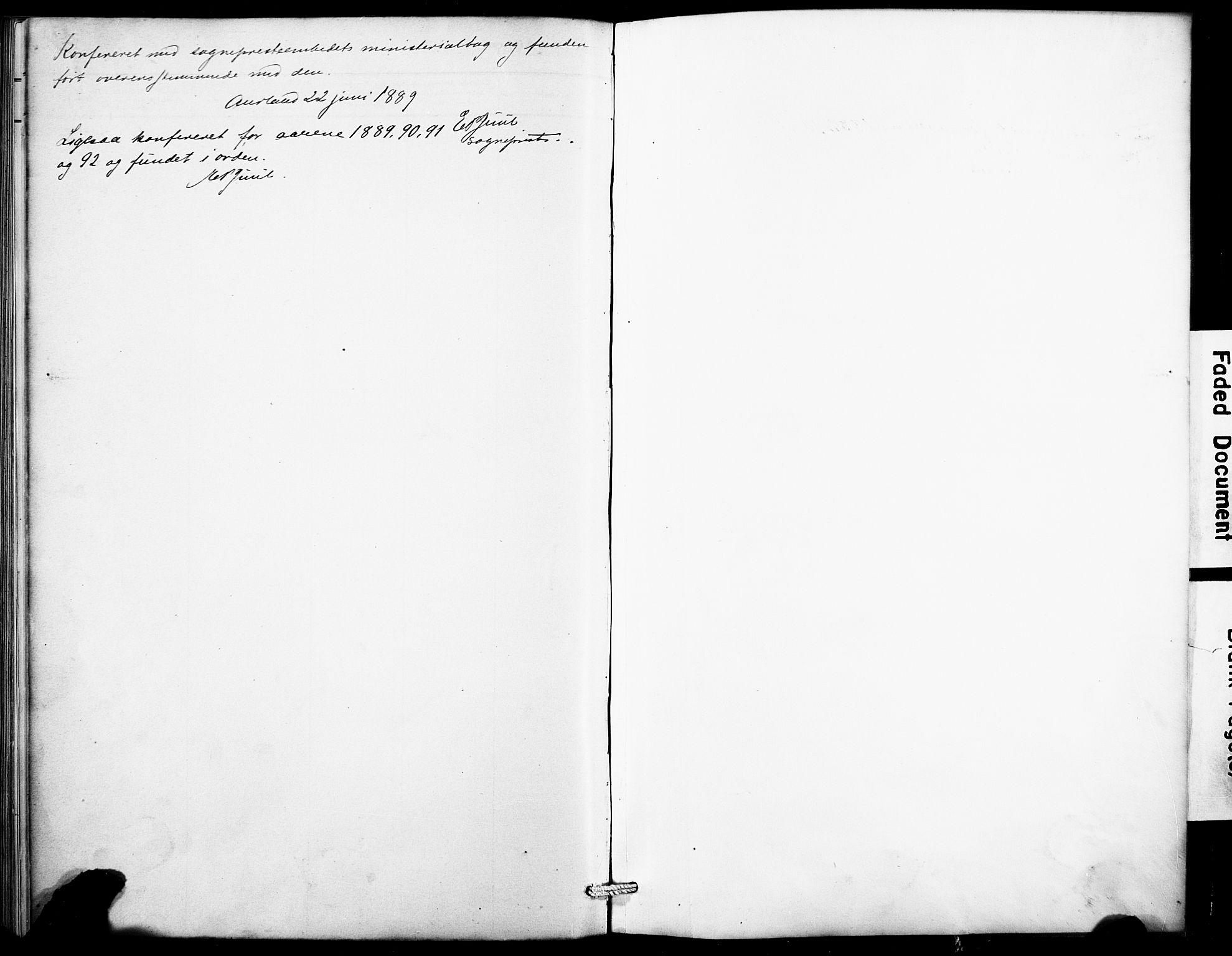 SAB, Aurland Sokneprestembete*, Klokkerbok nr. B 2, 1887-1929
