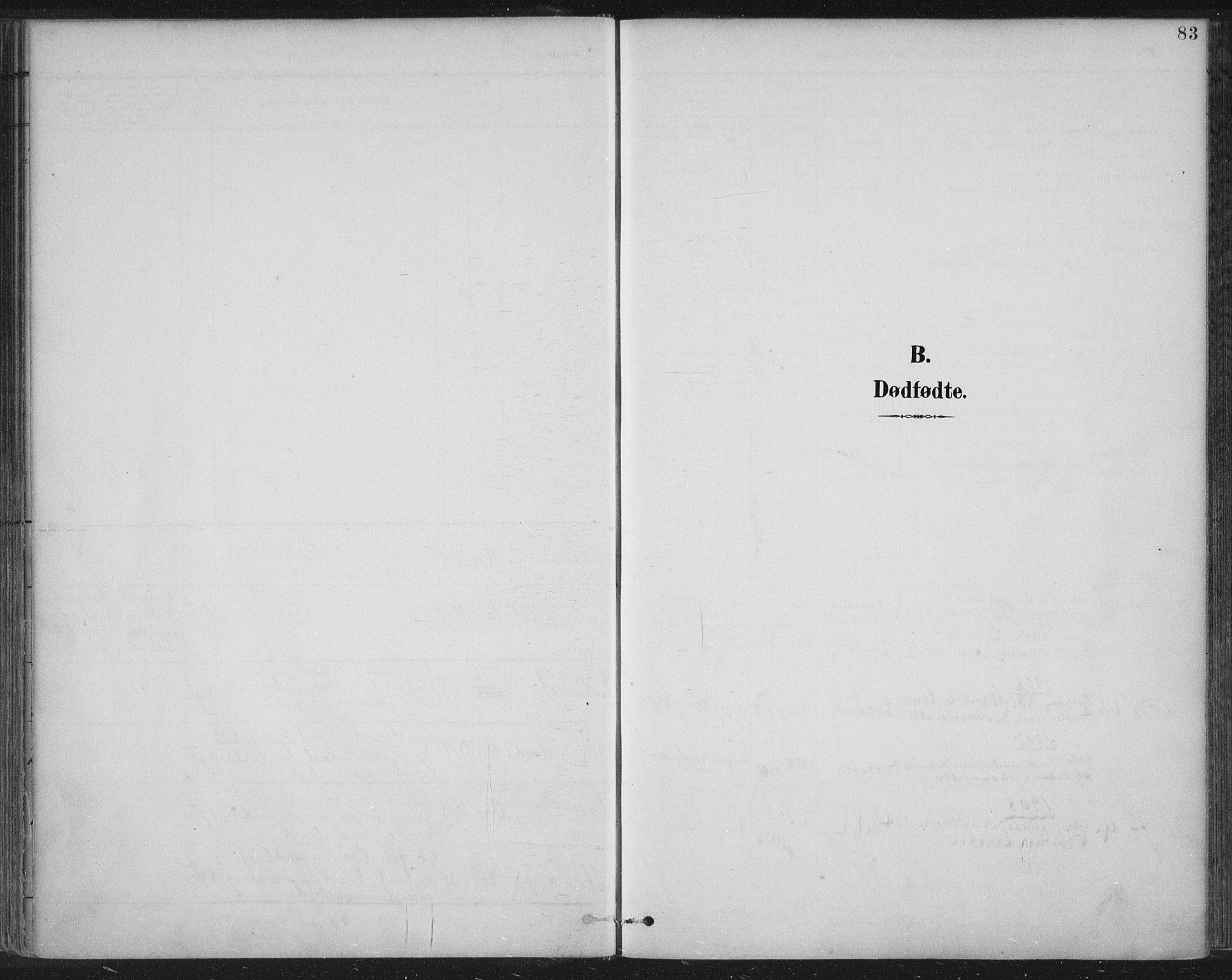 SAST, Tysvær sokneprestkontor, H/Ha/Haa/L0008: Ministerialbok nr. A 8, 1897-1918, s. 83