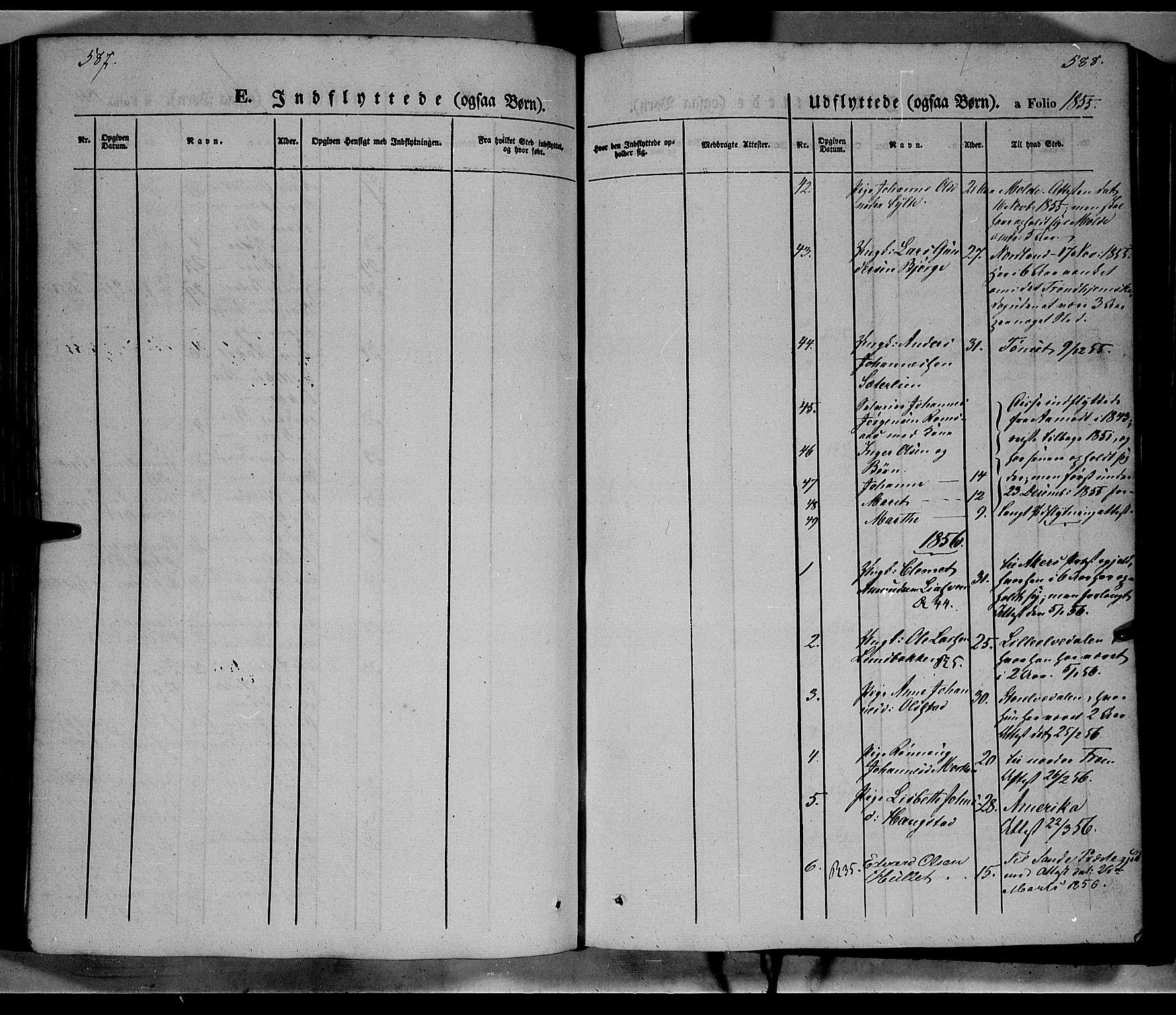 SAH, Ringebu prestekontor, Ministerialbok nr. 6, 1848-1859, s. 587-588