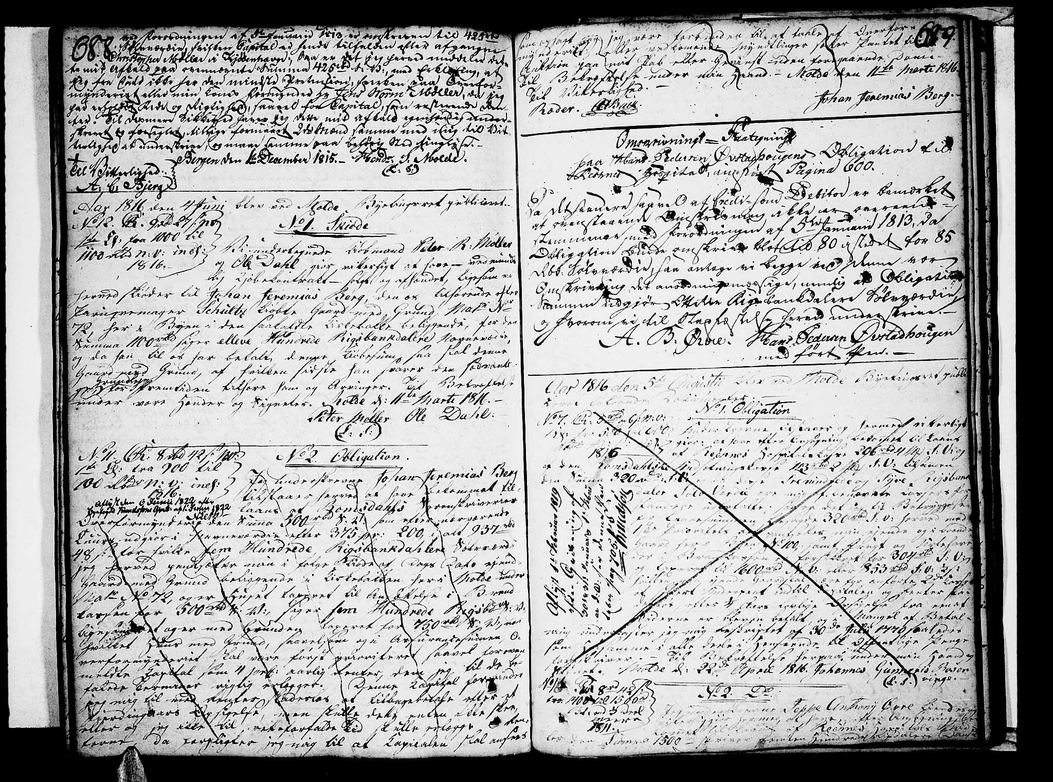 SAT, Molde byfogd, 2/2C/L0001: Pantebok nr. 1, 1748-1823, s. 688-689
