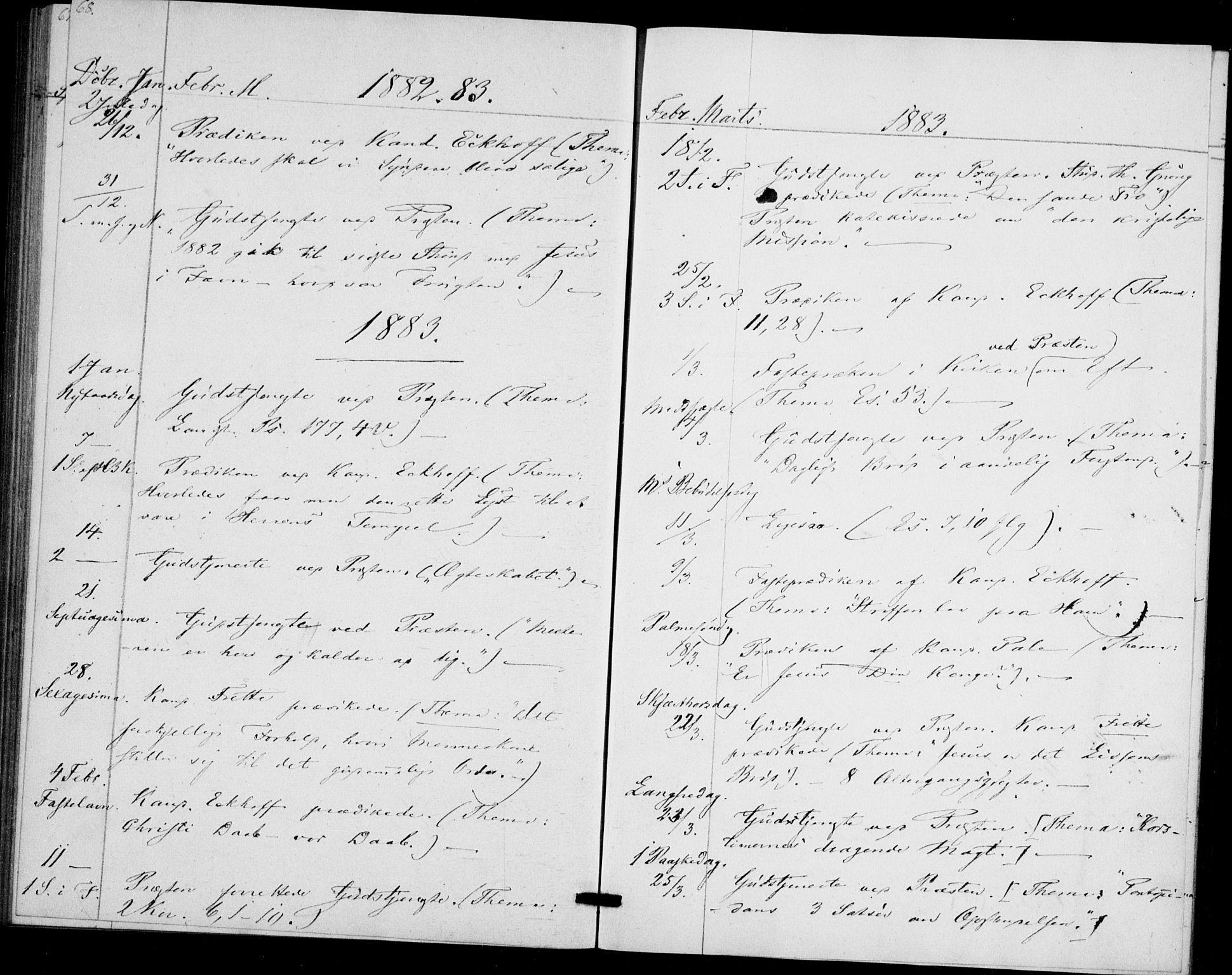 SAO, Akershus festnings slaveri Kirkebøker, F/Fa/L0002: Ministerialbok nr. 2, 1852-1883, s. 68