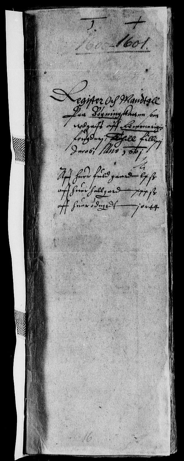 RA, Rentekammeret inntil 1814, Reviderte regnskaper, Lensregnskaper, R/Rb/Rba/L0013: Akershus len, 1576-1602