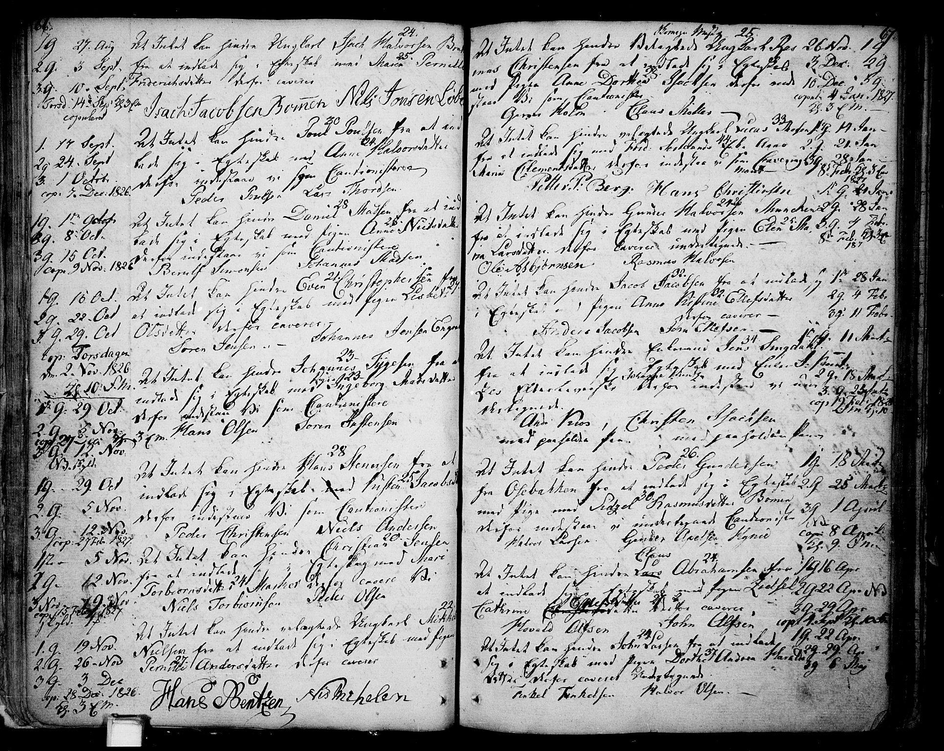 SAKO, Skien kirkebøker, F/Fa/L0004: Ministerialbok nr. 4, 1792-1814, s. 66-67