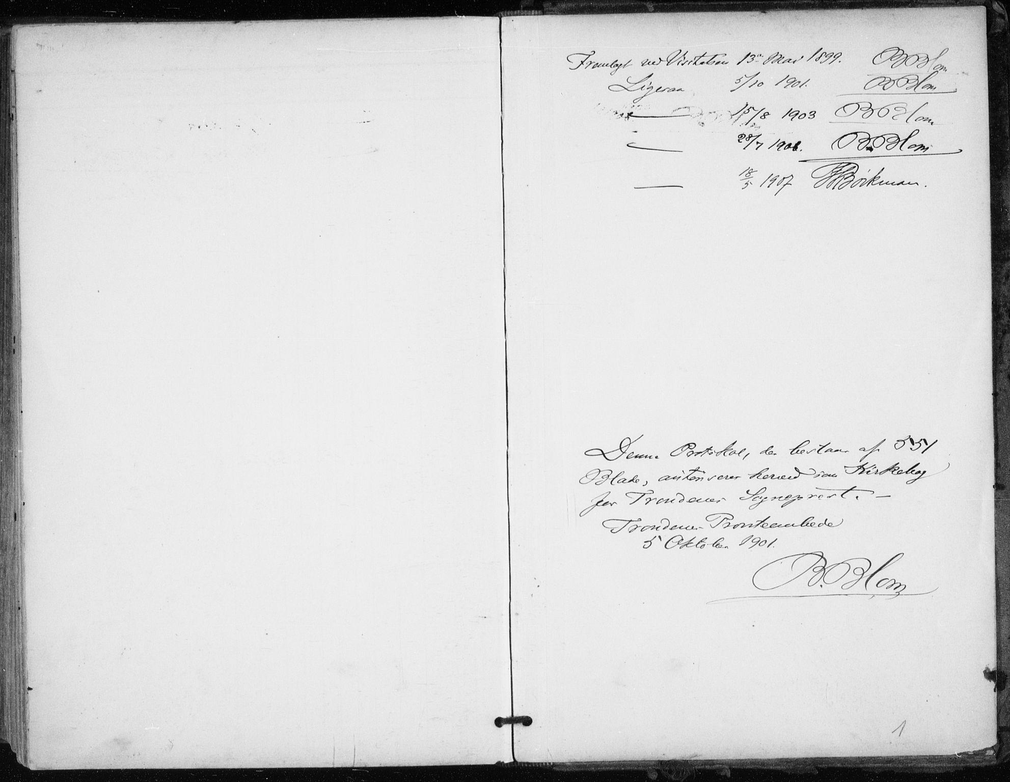 SATØ, Trondenes sokneprestkontor, H/Ha/L0017kirke: Ministerialbok nr. 17, 1899-1908