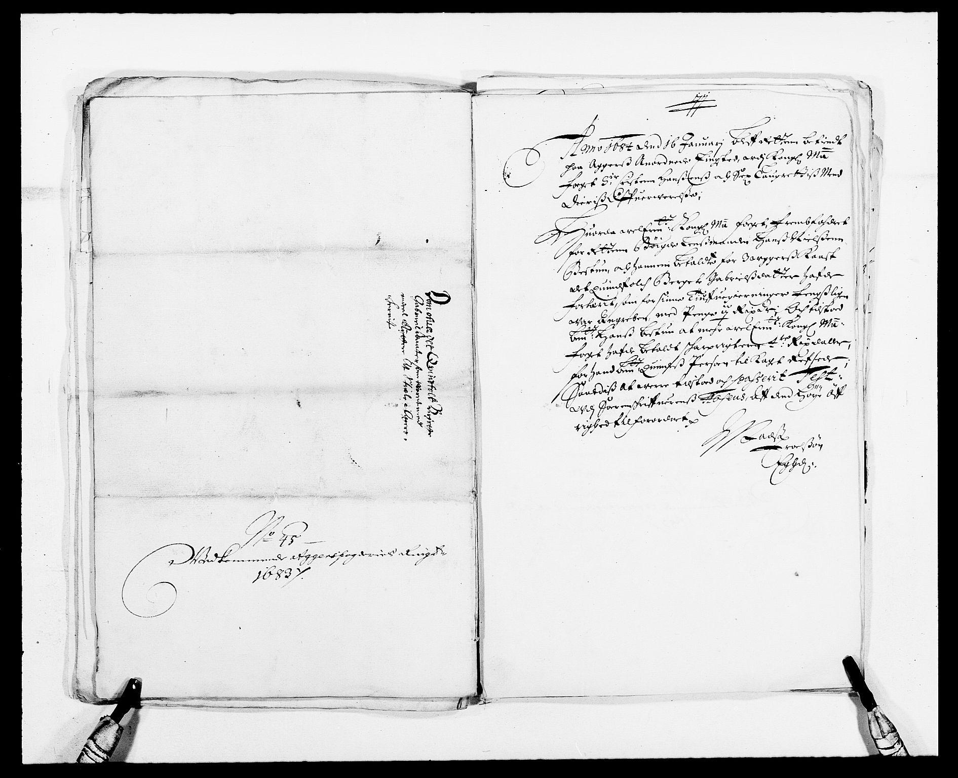 RA, Rentekammeret inntil 1814, Reviderte regnskaper, Fogderegnskap, R08/L0424: Fogderegnskap Aker, 1682-1689, s. 86