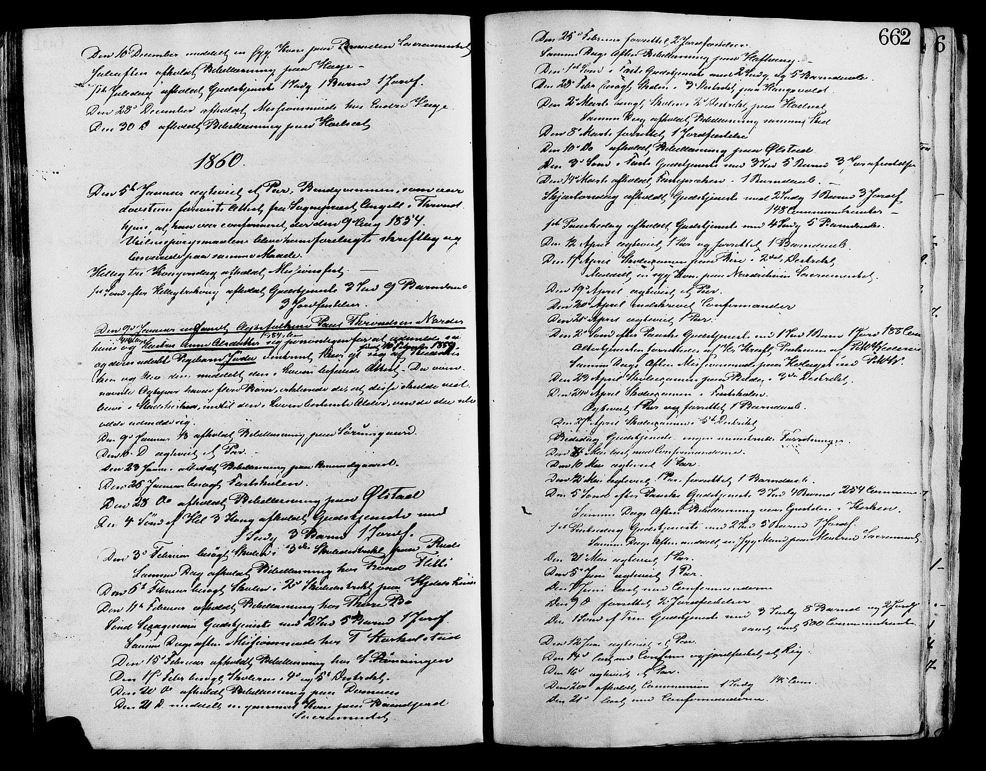 SAH, Lesja prestekontor, Ministerialbok nr. 8, 1854-1880, s. 662