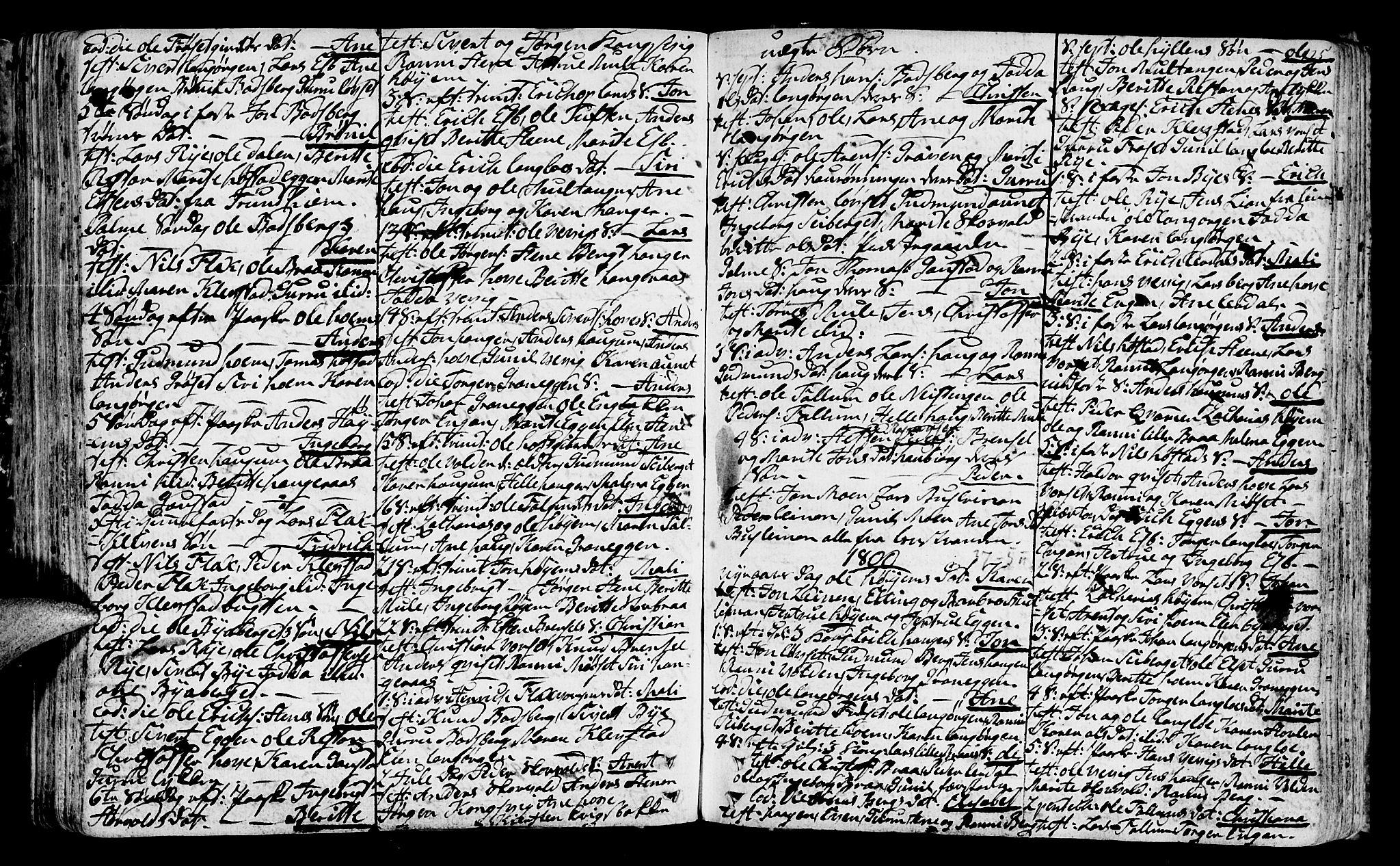 SAT, Ministerialprotokoller, klokkerbøker og fødselsregistre - Sør-Trøndelag, 612/L0370: Ministerialbok nr. 612A04, 1754-1802, s. 125