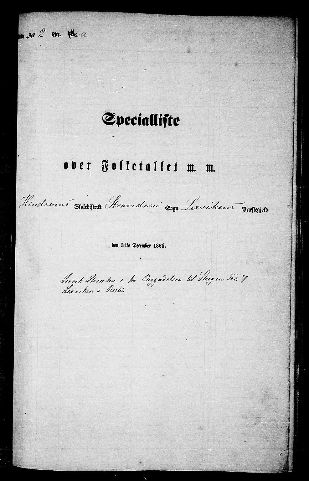 RA, Folketelling 1865 for 1718P Leksvik prestegjeld, 1865, s. 32
