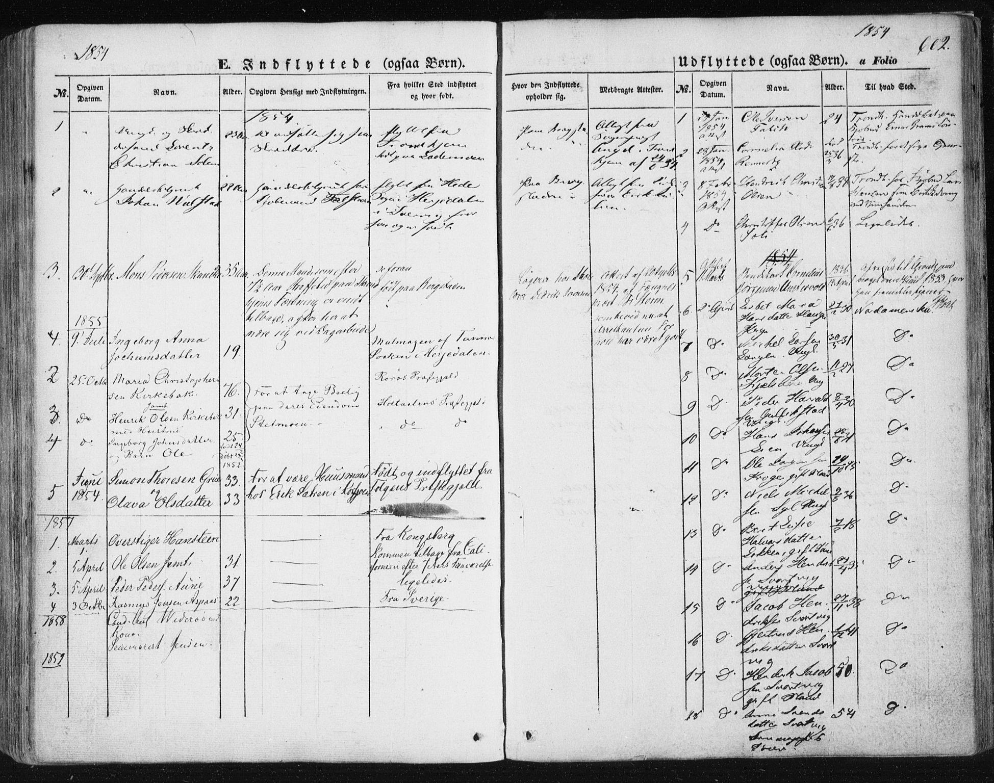 SAT, Ministerialprotokoller, klokkerbøker og fødselsregistre - Sør-Trøndelag, 681/L0931: Ministerialbok nr. 681A09, 1845-1859, s. 602