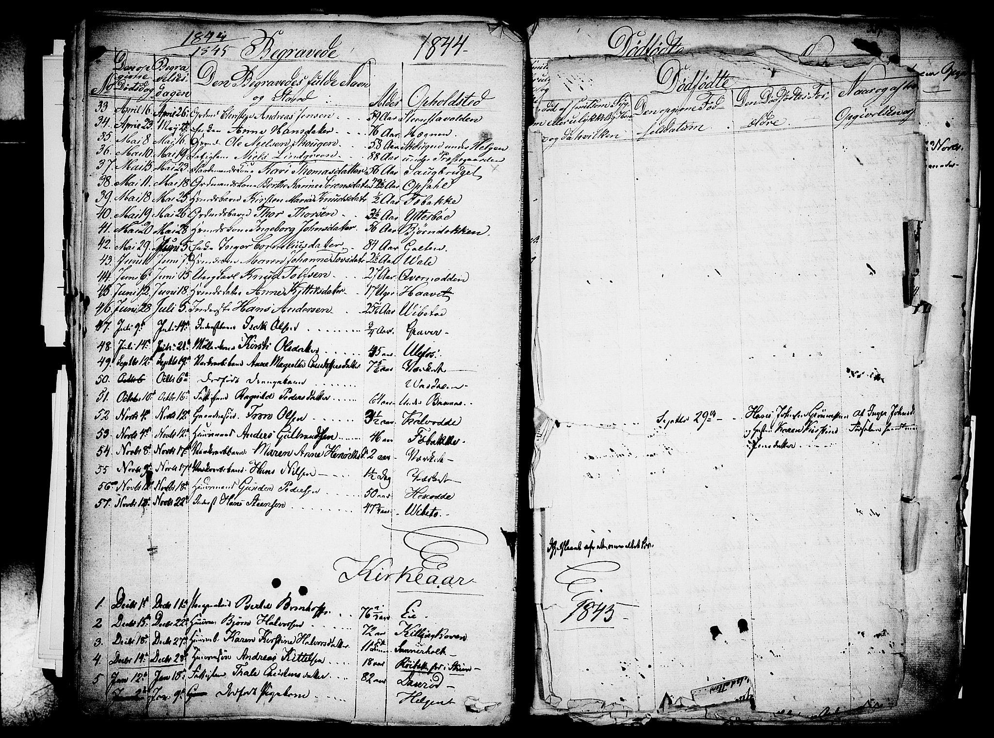 SAKO, Holla kirkebøker, F/Fa/L0004: Ministerialbok nr. 4, 1830-1848, s. 386