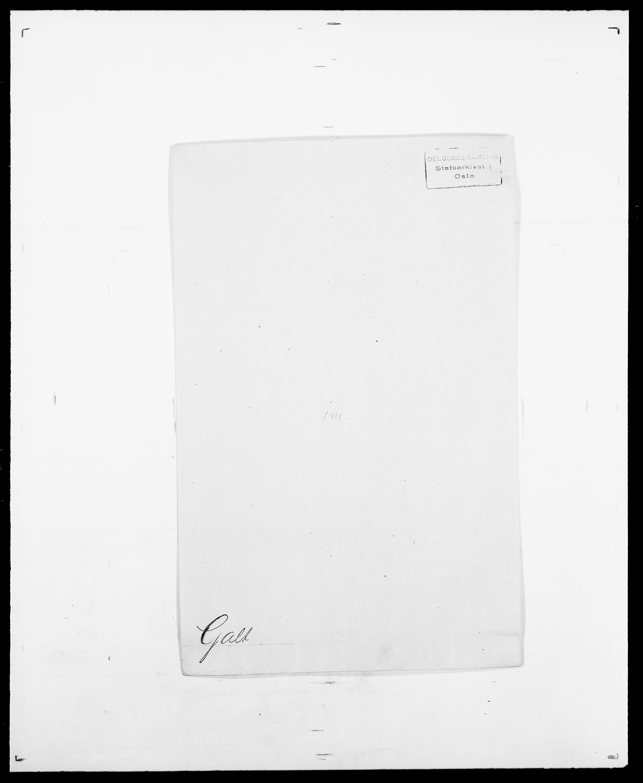 SAO, Delgobe, Charles Antoine - samling, D/Da/L0013: Forbos - Geving, s. 421