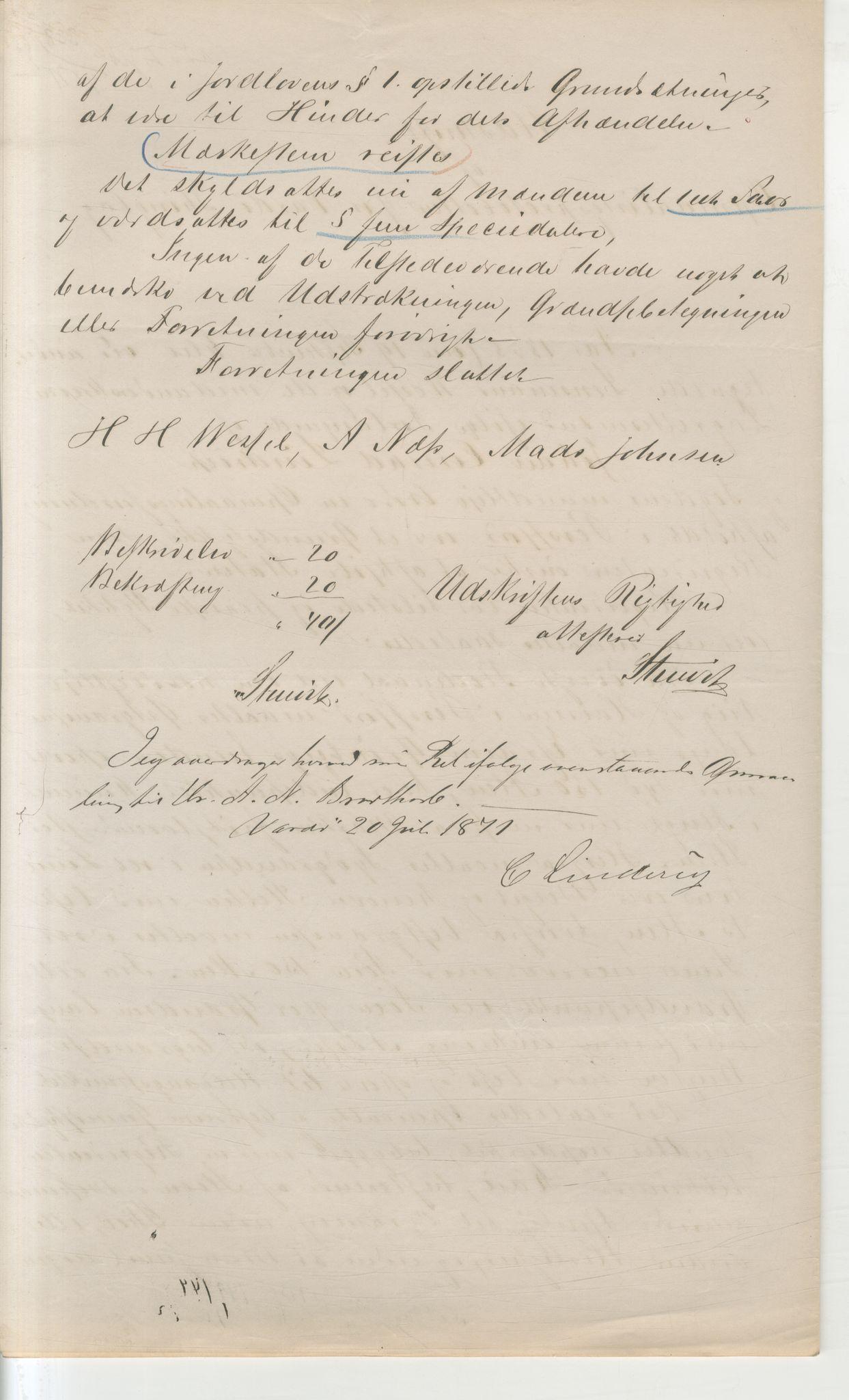 VAMU, Brodtkorb handel A/S, Q/Qb/L0003: Faste eiendommer i Vardø Herred, 1862-1939, s. 72