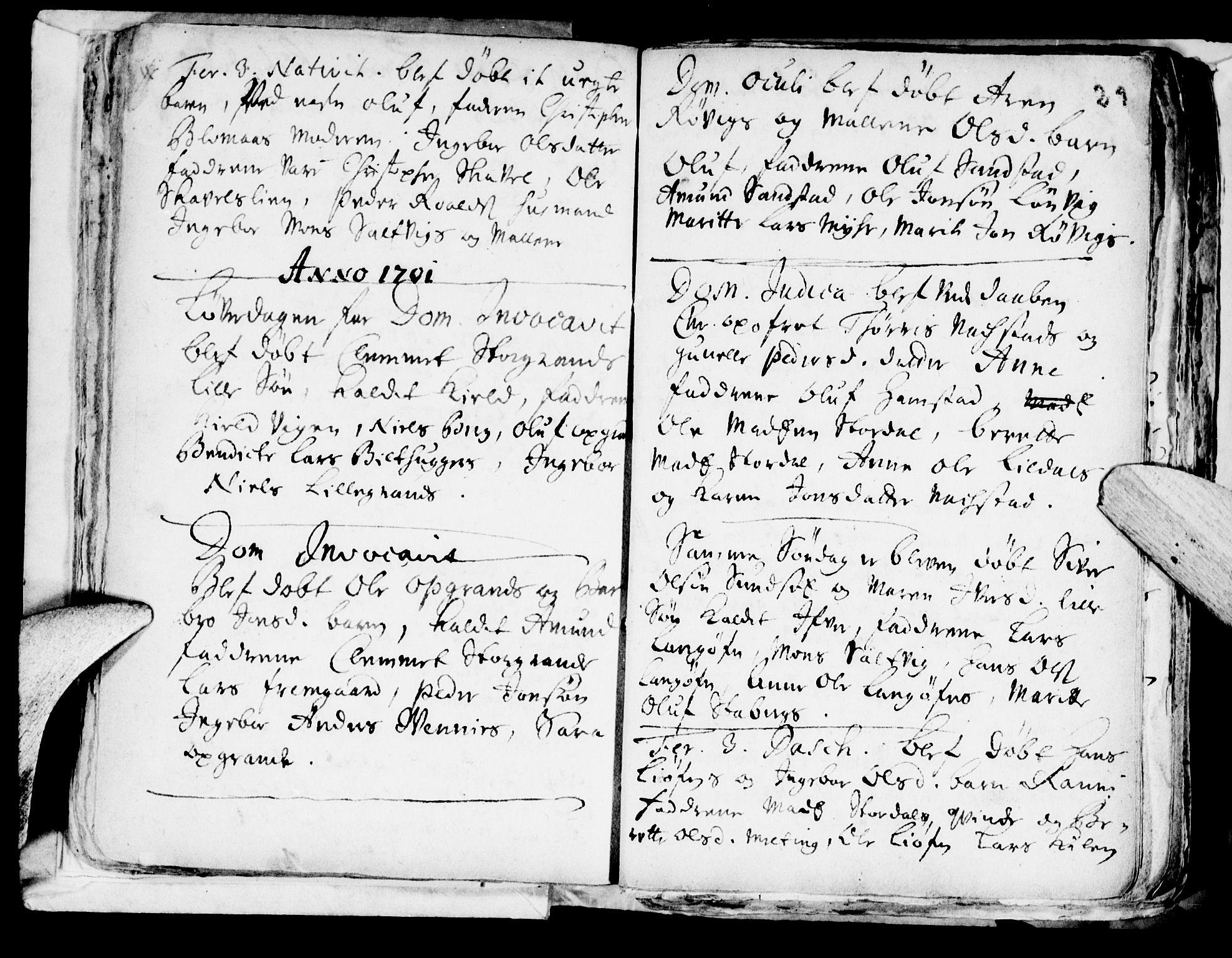 SAT, Ministerialprotokoller, klokkerbøker og fødselsregistre - Nord-Trøndelag, 722/L0214: Ministerialbok nr. 722A01, 1692-1718, s. 29