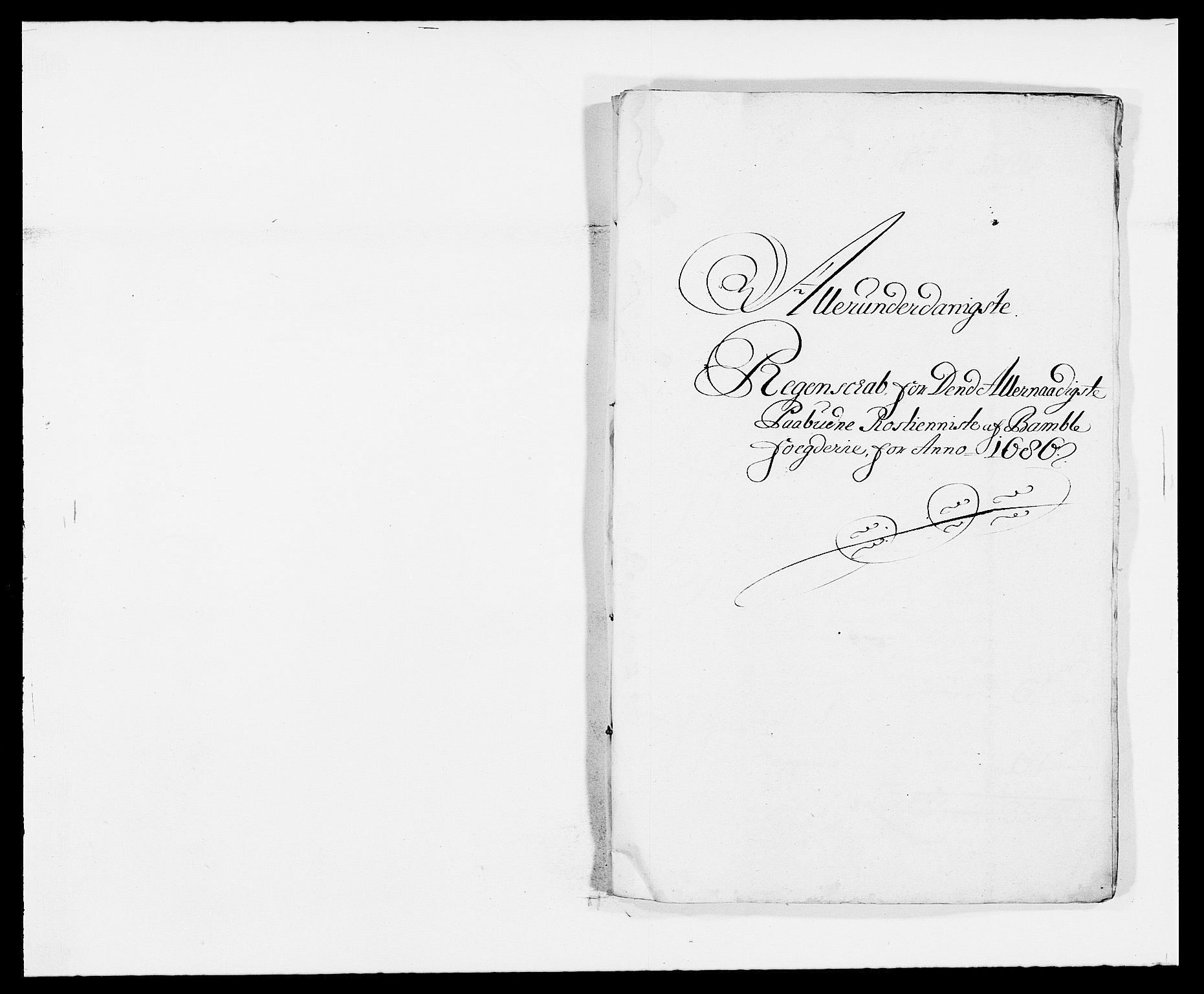RA, Rentekammeret inntil 1814, Reviderte regnskaper, Fogderegnskap, R34/L2049: Fogderegnskap Bamble, 1685-1687, s. 112