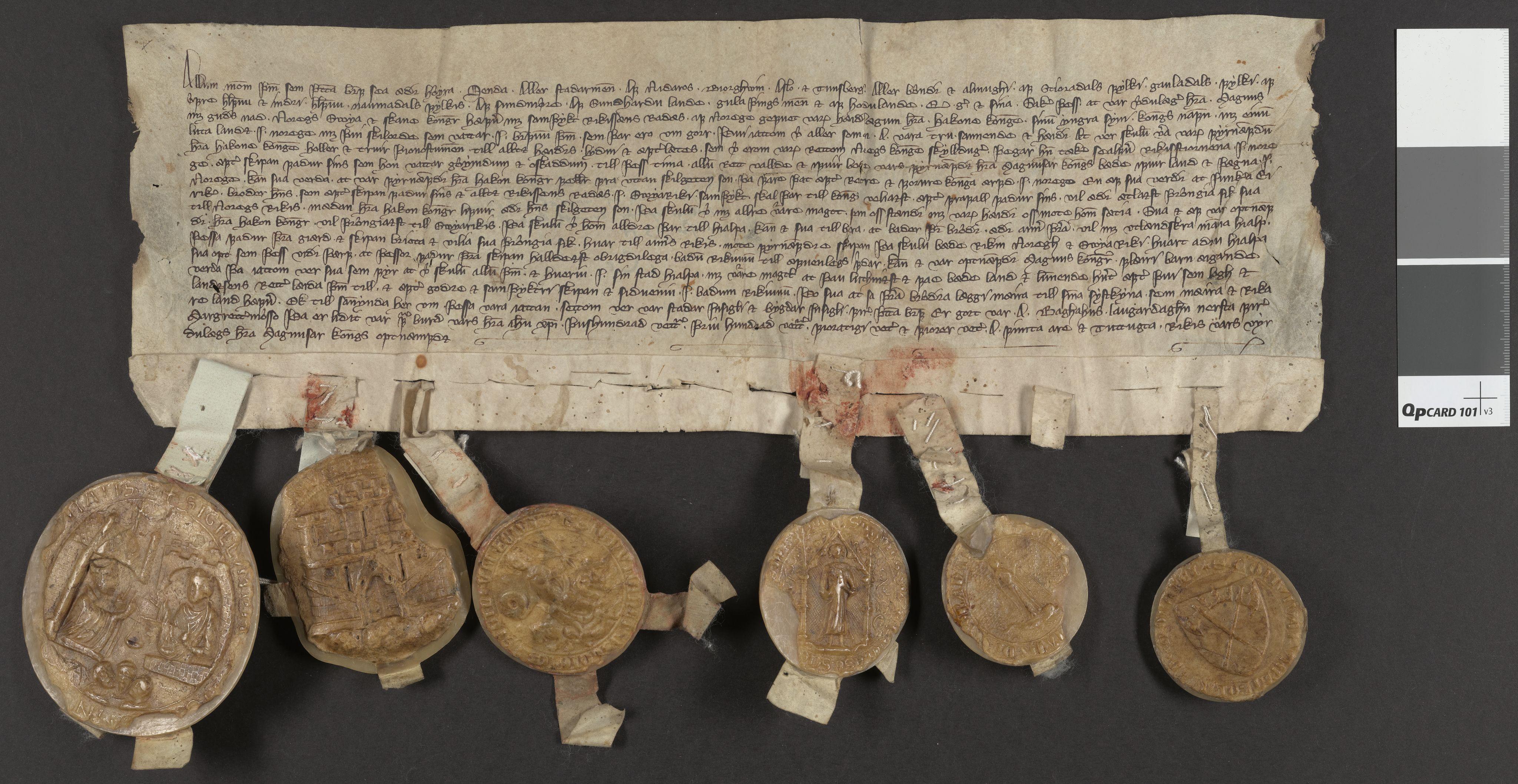 RA, Riksarkivets diplomsamling, F06/L0002: Dokument nr. 4, 1344