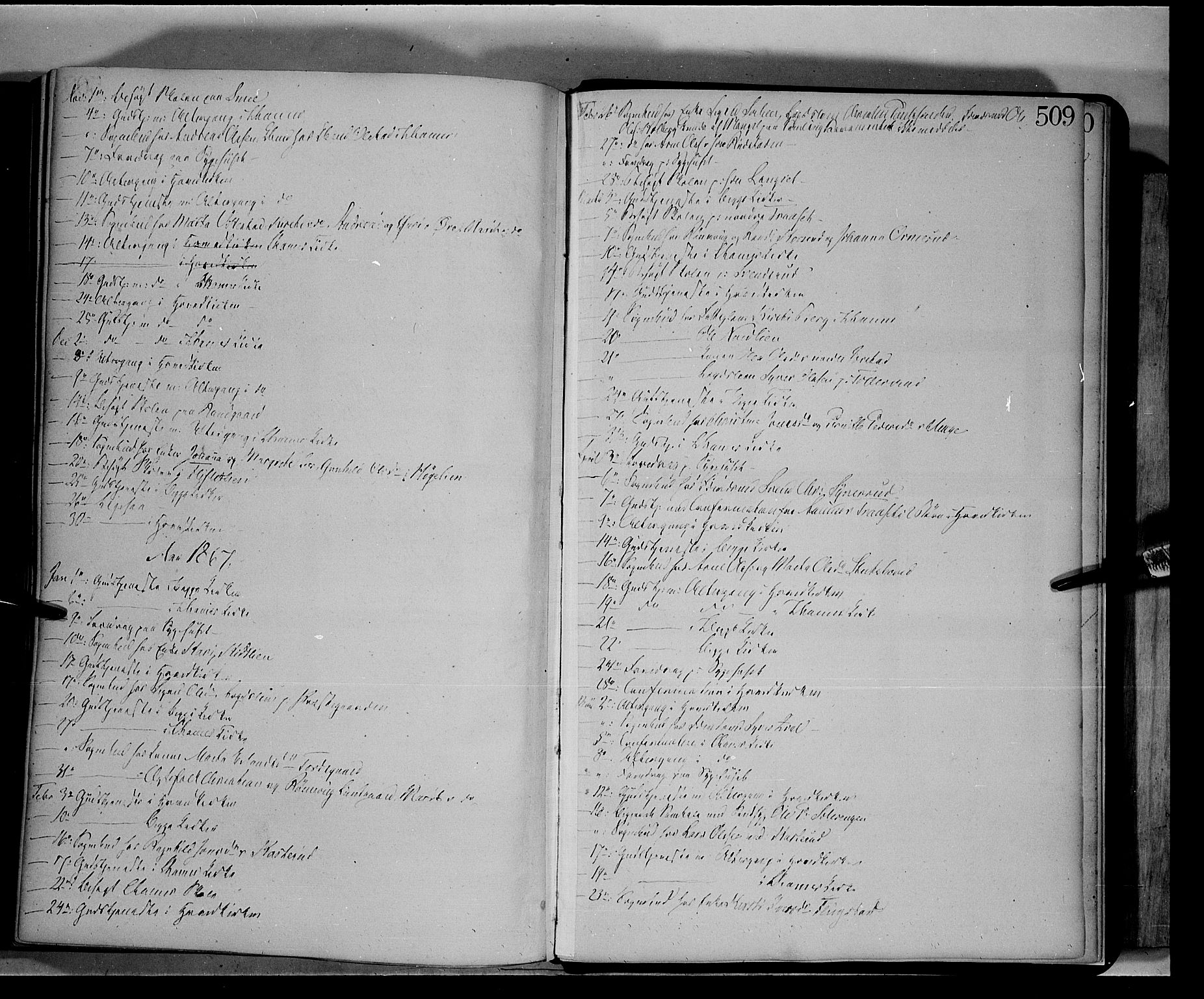 SAH, Fåberg prestekontor, Ministerialbok nr. 6B, 1855-1867, s. 509