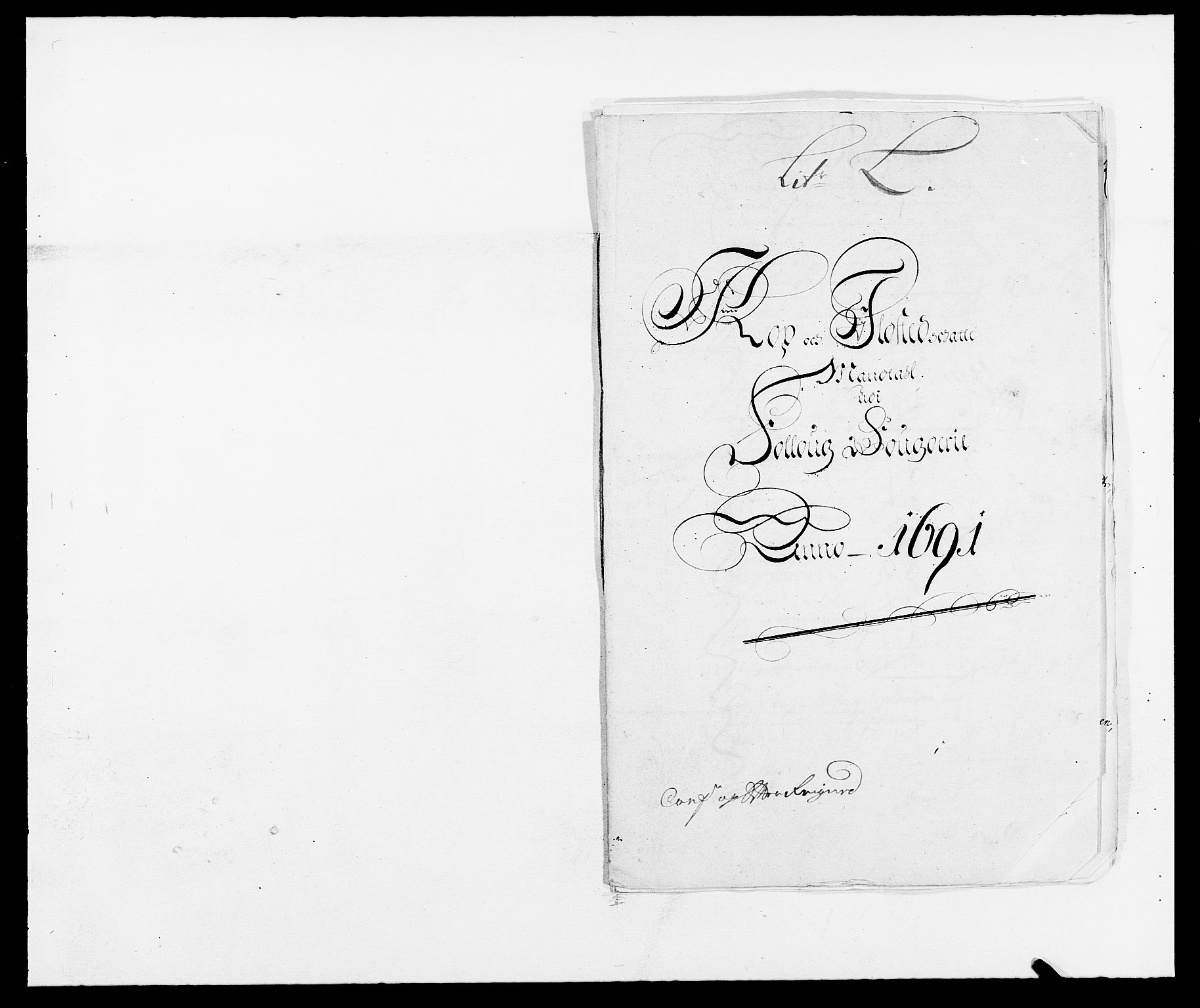 RA, Rentekammeret inntil 1814, Reviderte regnskaper, Fogderegnskap, R09/L0435: Fogderegnskap Follo, 1689-1691, s. 434