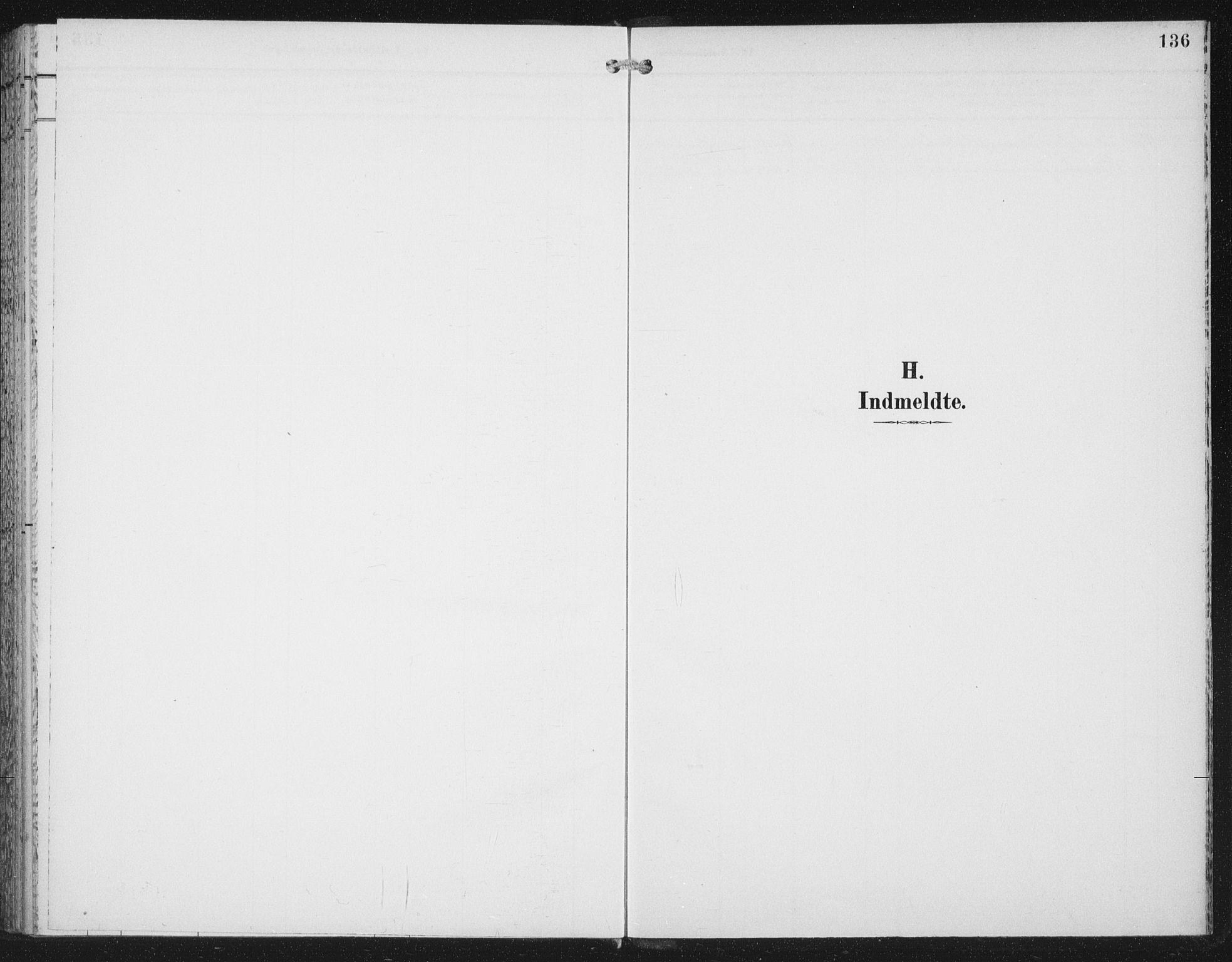 SAT, Ministerialprotokoller, klokkerbøker og fødselsregistre - Nord-Trøndelag, 702/L0024: Ministerialbok nr. 702A02, 1898-1914, s. 136