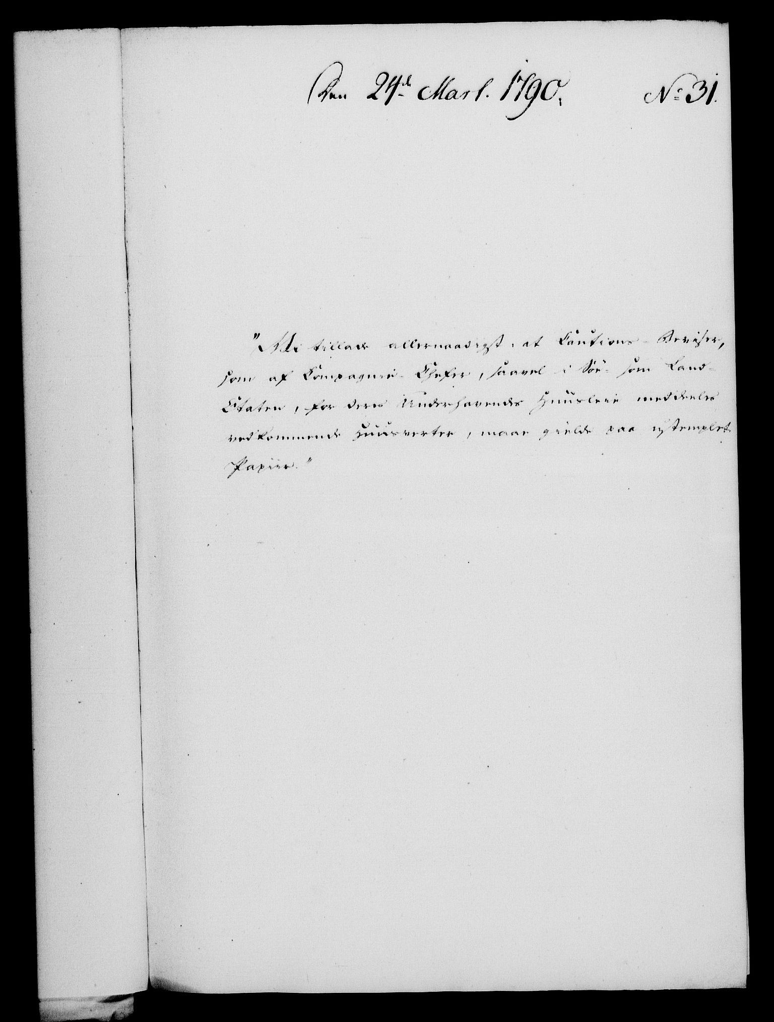RA, Rentekammeret, Kammerkanselliet, G/Gf/Gfa/L0072: Norsk relasjons- og resolusjonsprotokoll (merket RK 52.72), 1790, s. 163