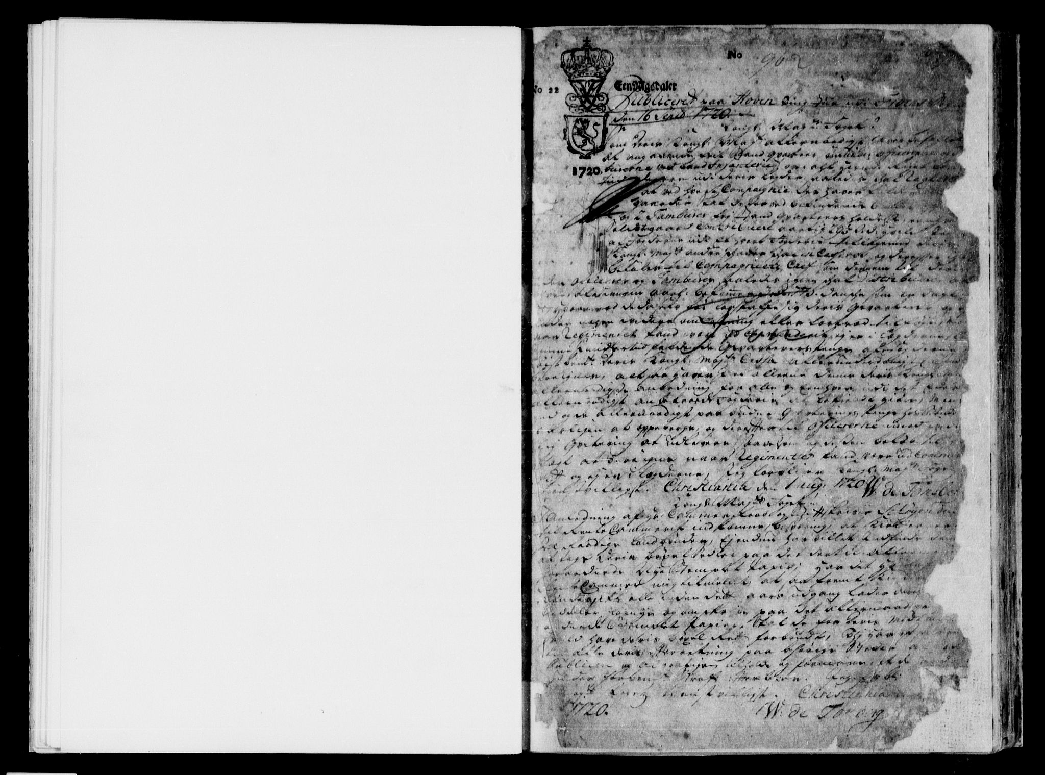 SAH, Sorenskriverier i Gudbrandsdalen, H/Hb/L0001: Pantebok nr. 1, 1720-1726, s. 1