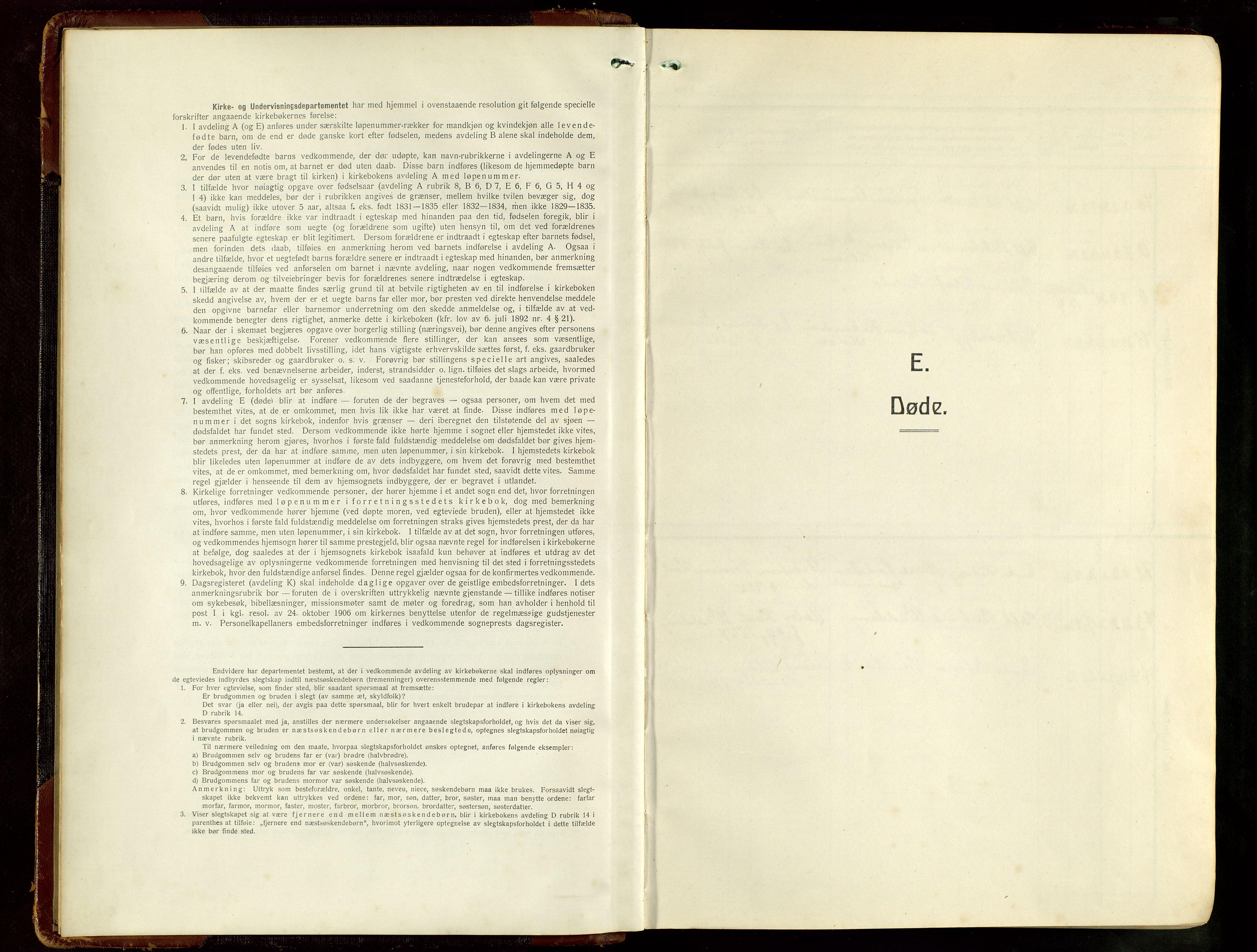 SAST, Haugesund sokneprestkontor, H/Ha/Hab/L0012: Klokkerbok nr. B 12, 1930-1958