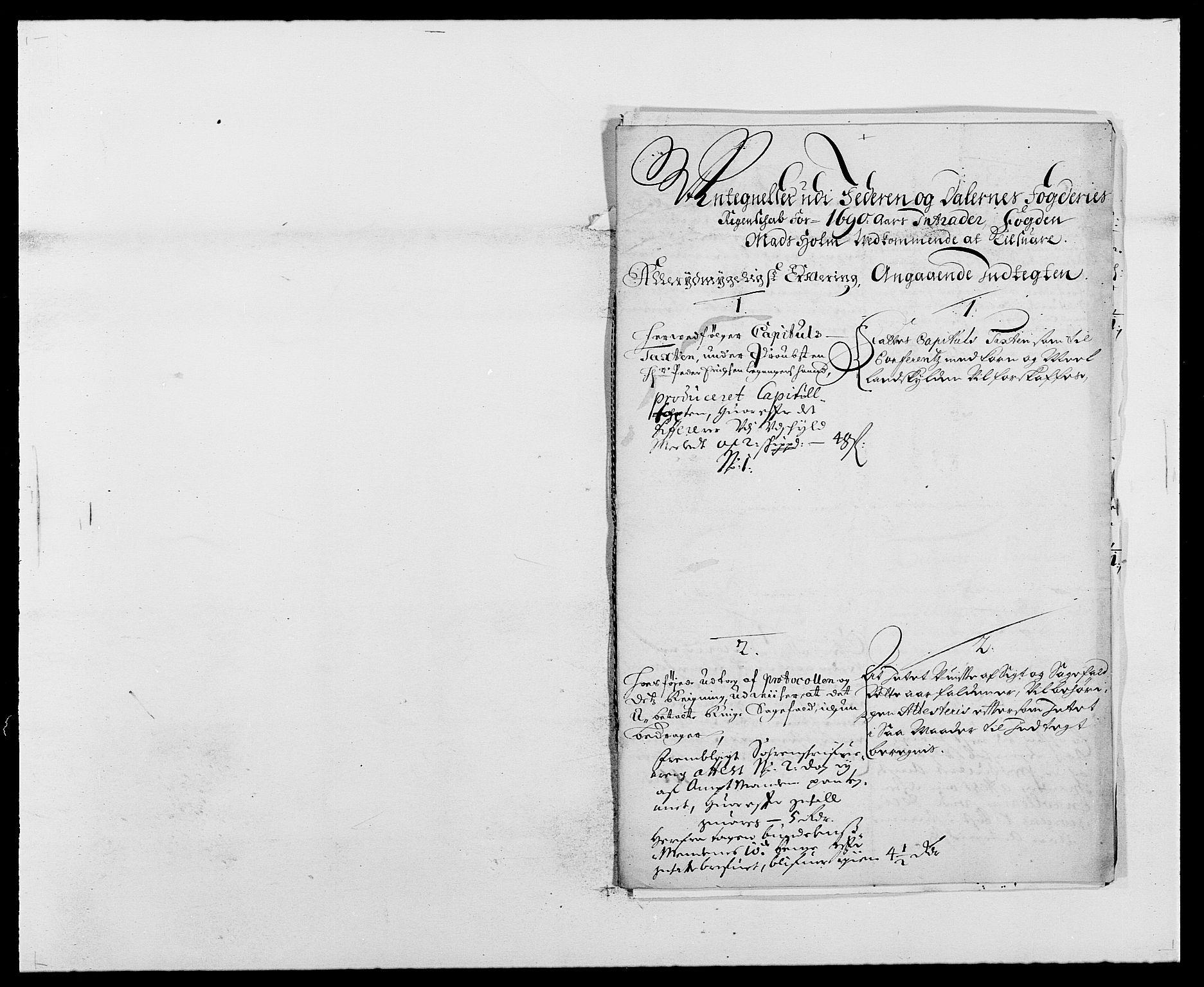 RA, Rentekammeret inntil 1814, Reviderte regnskaper, Fogderegnskap, R46/L2727: Fogderegnskap Jæren og Dalane, 1690-1693, s. 59