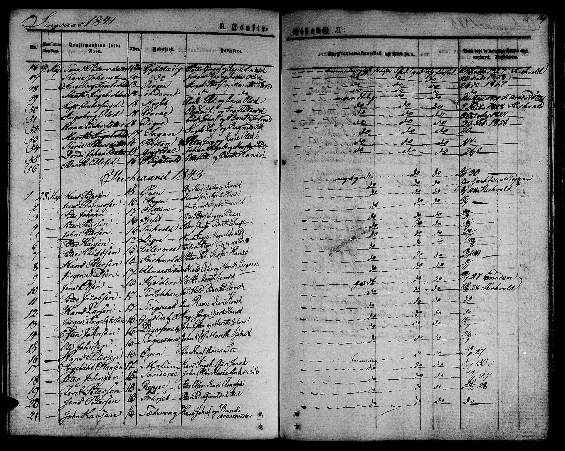 SAT, Ministerialprotokoller, klokkerbøker og fødselsregistre - Sør-Trøndelag, 685/L0958: Ministerialbok nr. 685A04 /2, 1829-1845, s. 169