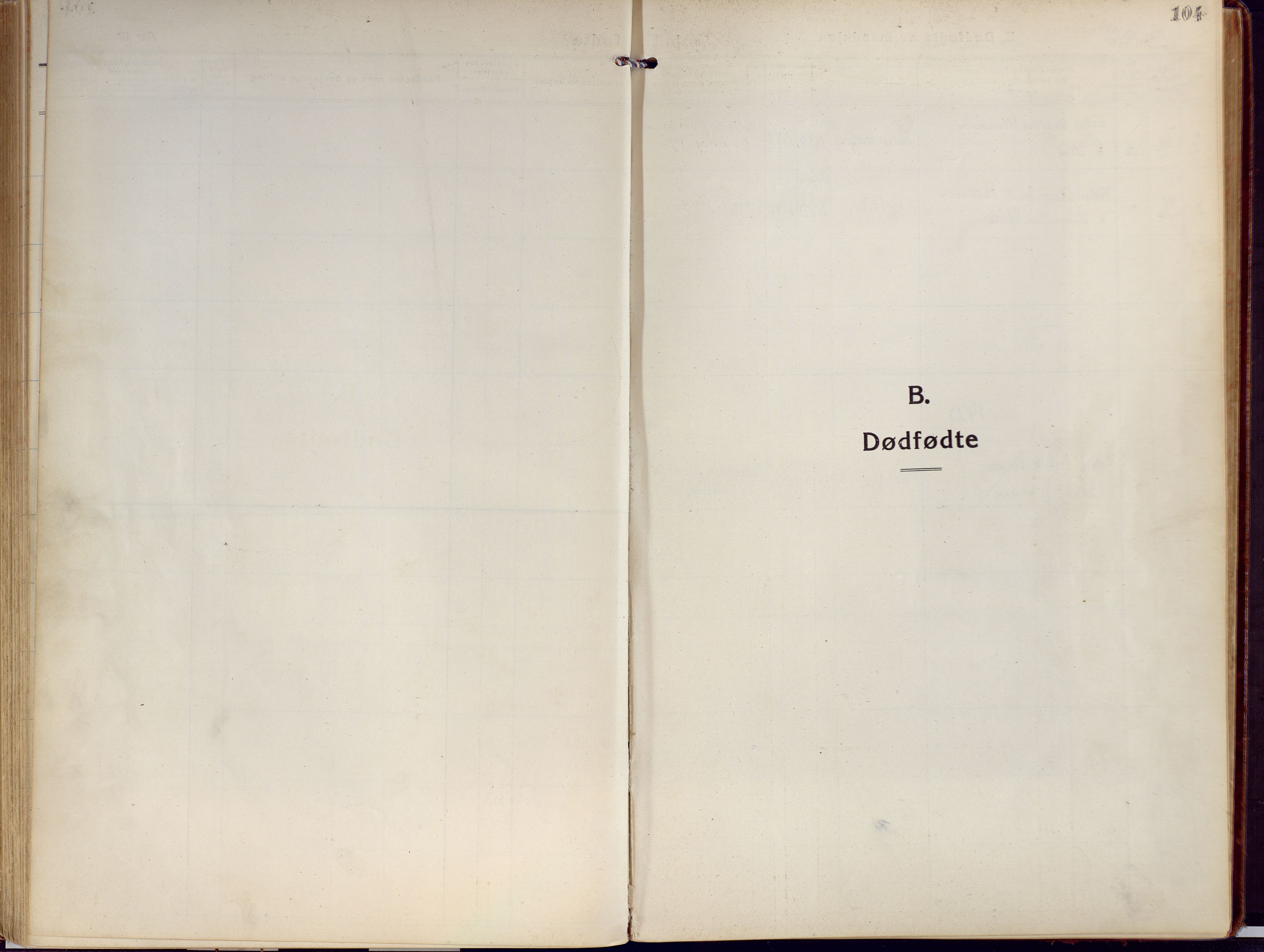 SATØ, Kjelvik/Nordkapp sokneprestkontor, H/Ha/L0002kirke: Ministerialbok nr. 2, 1920-1929, s. 104
