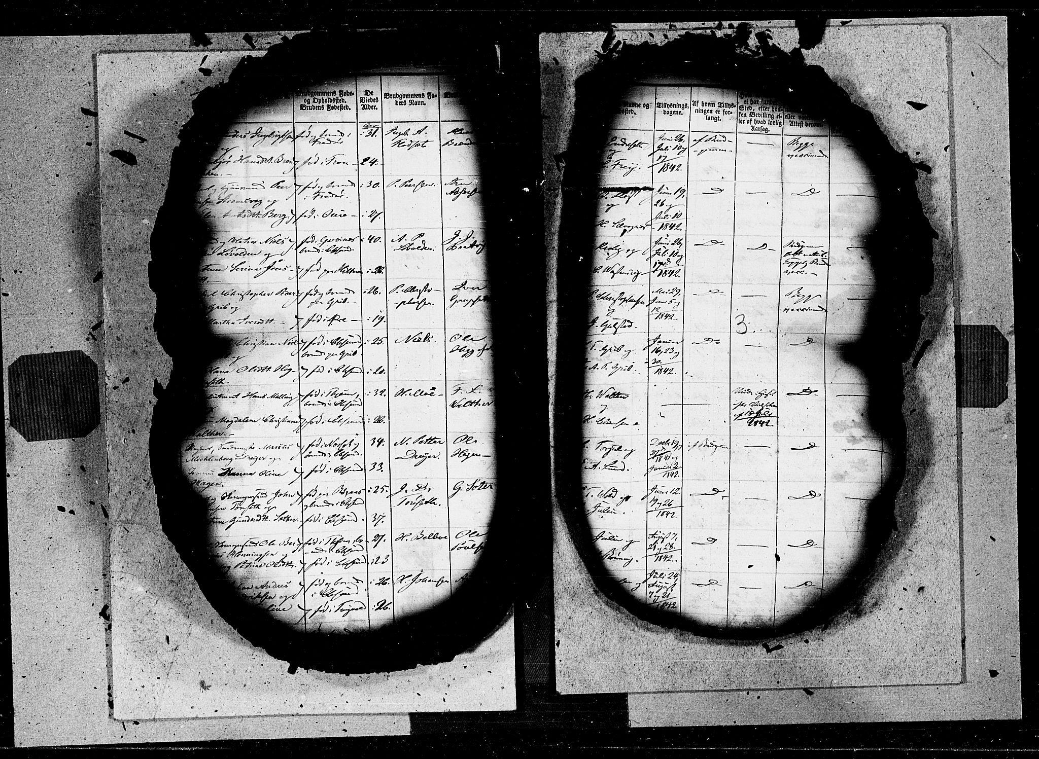 SAT, Ministerialprotokoller, klokkerbøker og fødselsregistre - Møre og Romsdal, 572/L0844: Ministerialbok nr. 572A07, 1842-1855, s. 3