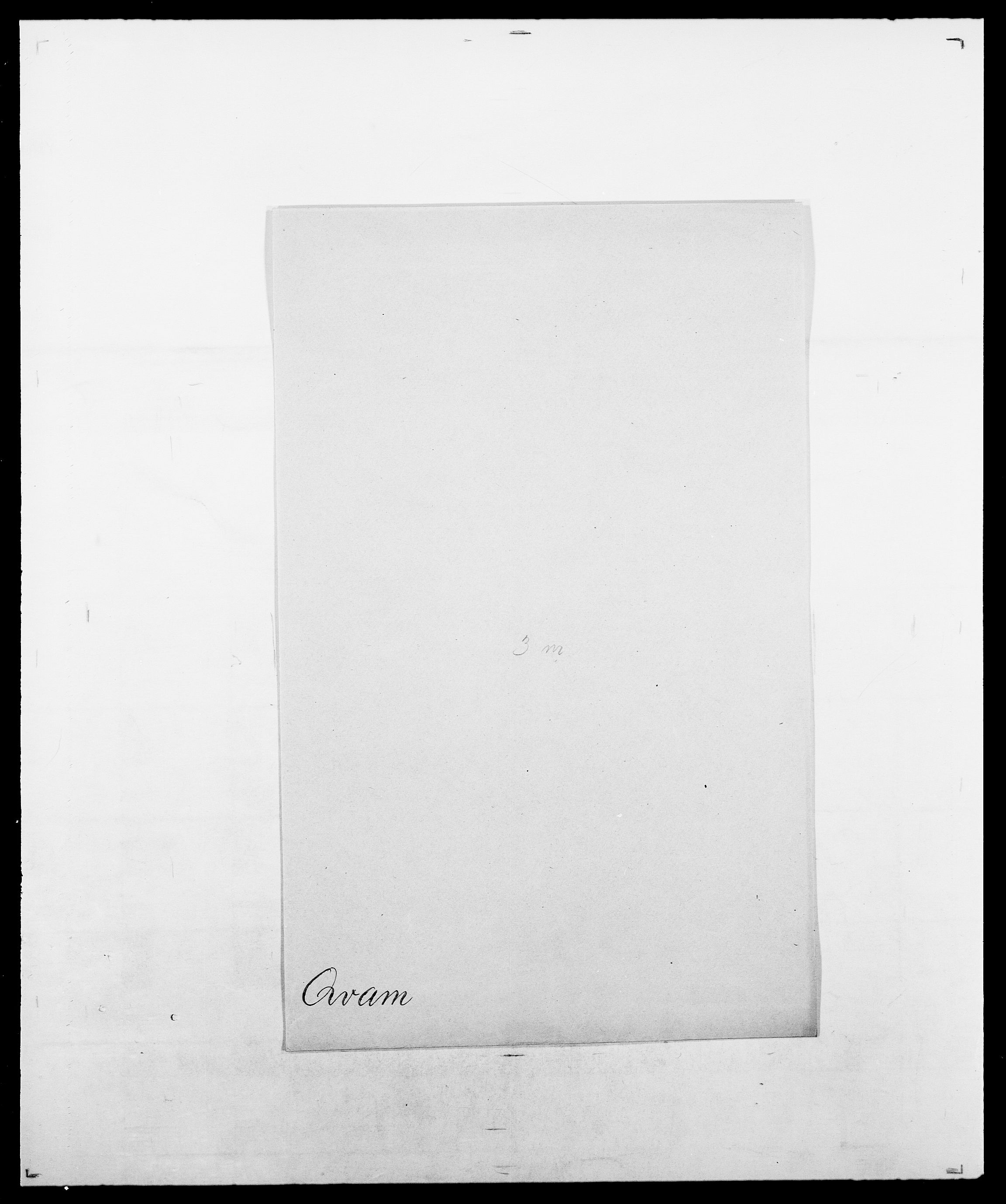 SAO, Delgobe, Charles Antoine - samling, D/Da/L0031: de Place - Raaum, s. 493