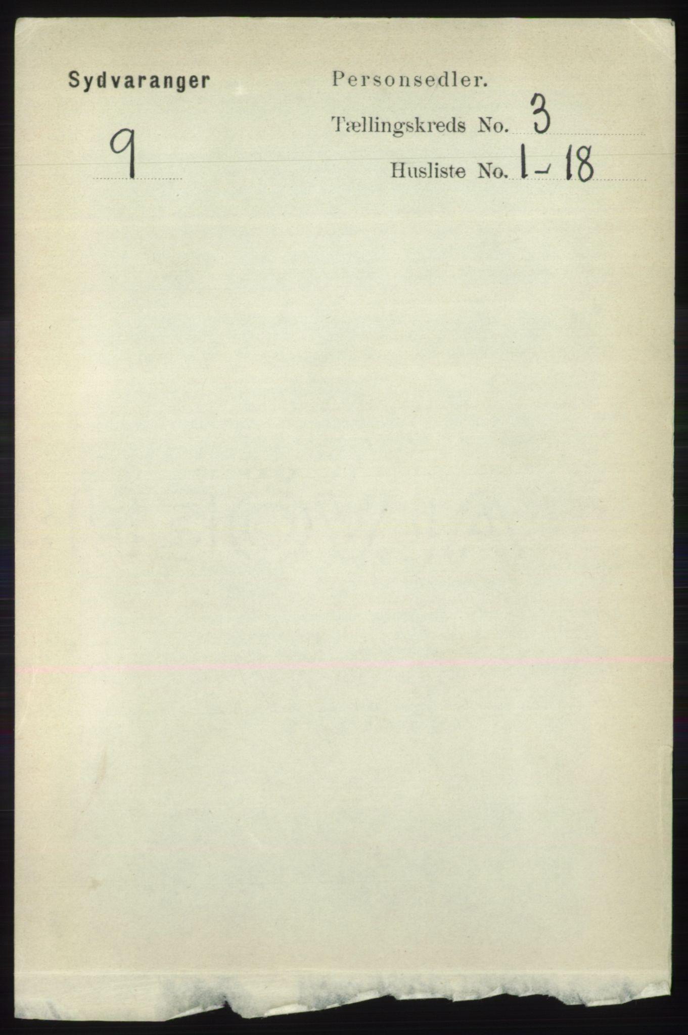 RA, Folketelling 1891 for 2030 Sør-Varanger herred, 1891, s. 780