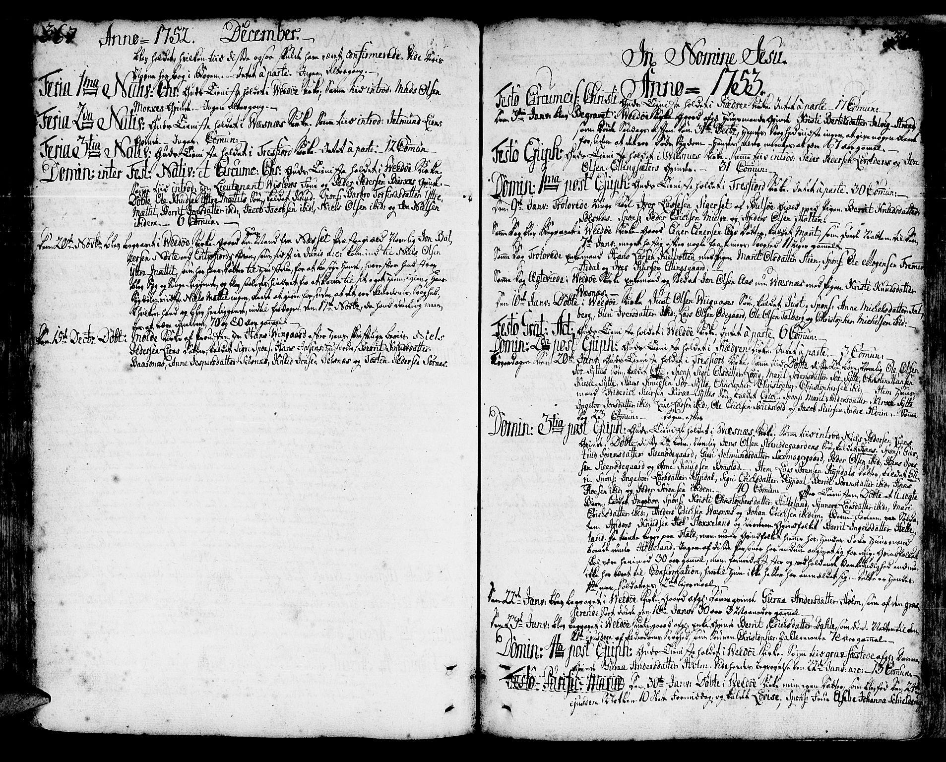 SAT, Ministerialprotokoller, klokkerbøker og fødselsregistre - Møre og Romsdal, 547/L0599: Ministerialbok nr. 547A01, 1721-1764, s. 367-368