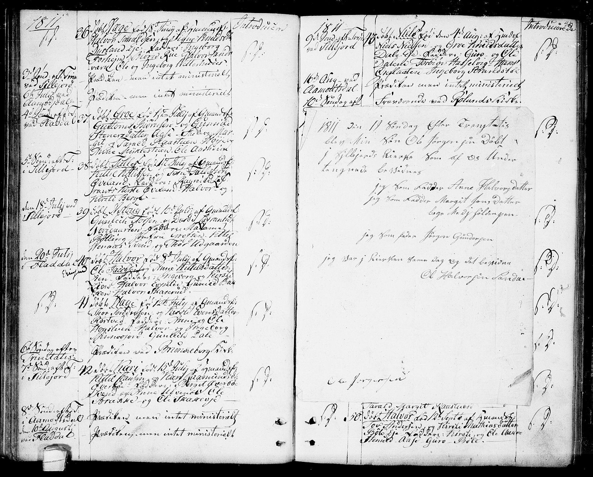 SAKO, Seljord kirkebøker, F/Fa/L0009: Ministerialbok nr. I 9, 1801-1814, s. 41
