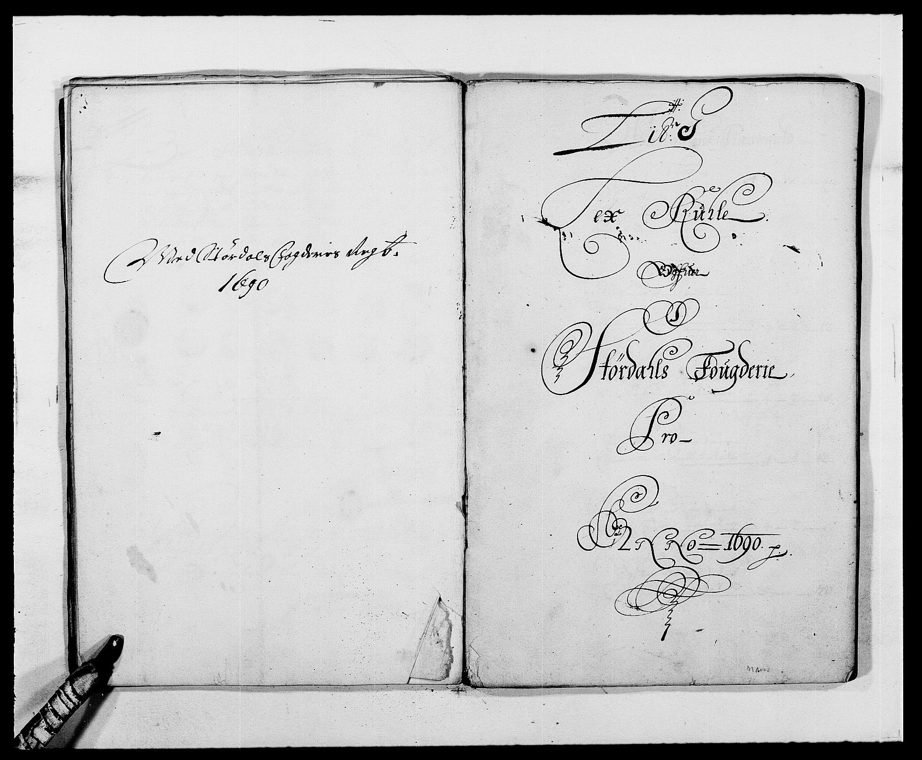 RA, Rentekammeret inntil 1814, Reviderte regnskaper, Fogderegnskap, R62/L4184: Fogderegnskap Stjørdal og Verdal, 1690-1691, s. 103