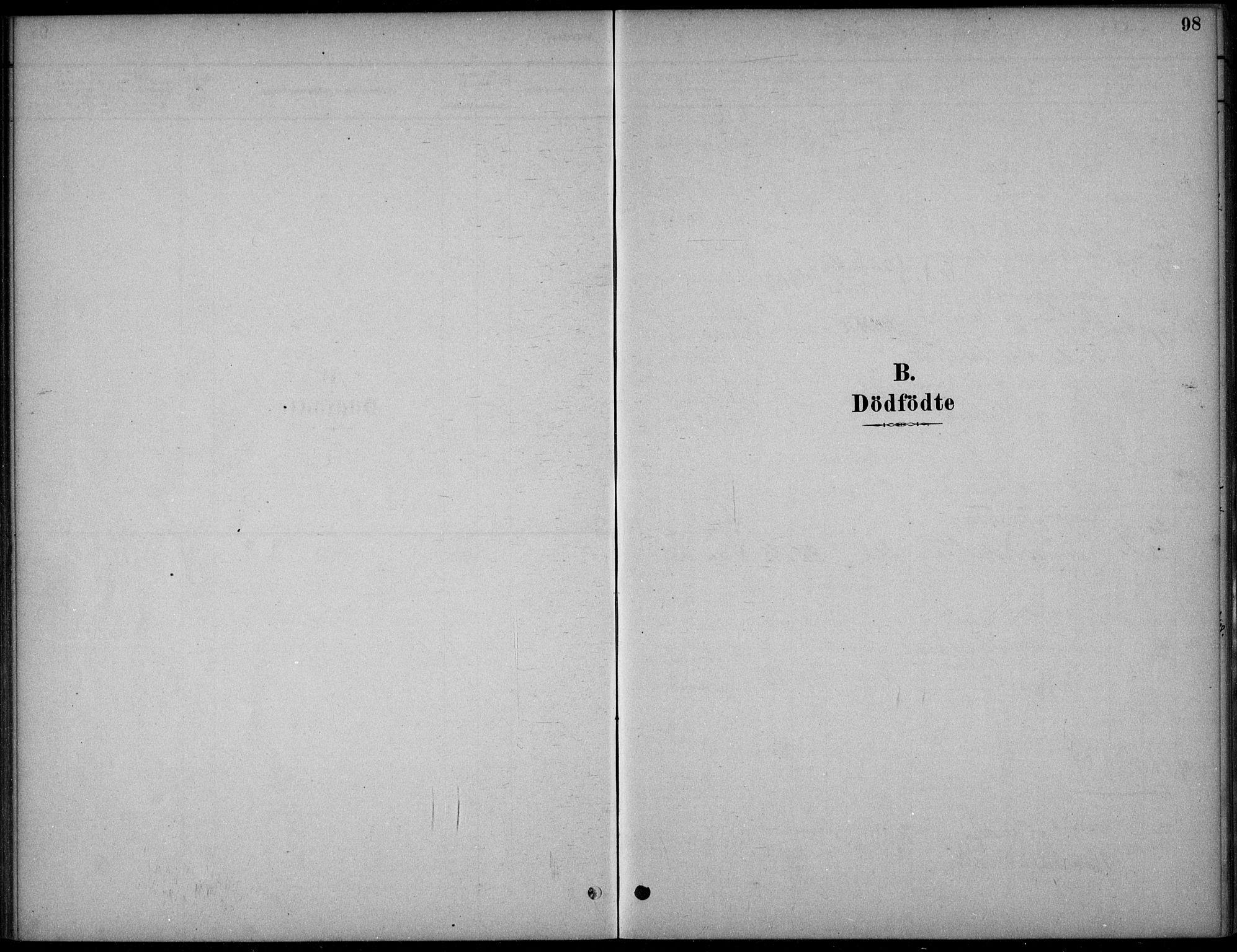 SAKO, Hjartdal kirkebøker, F/Fc/L0002: Ministerialbok nr. III 2, 1880-1936, s. 98