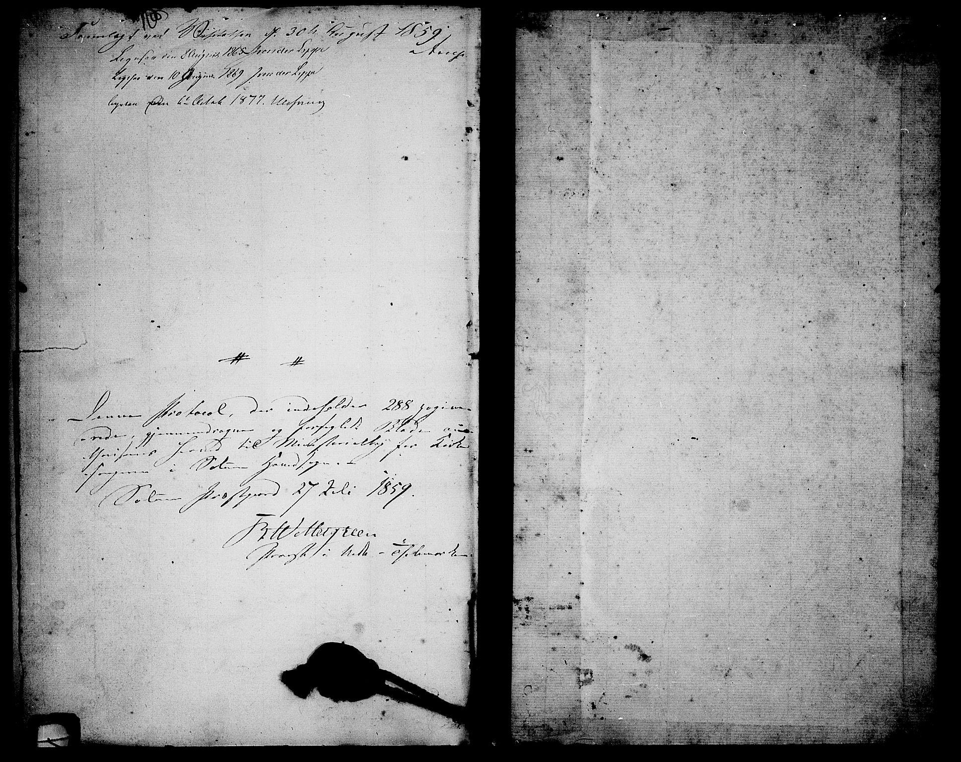 SAKO, Solum kirkebøker, G/Ga/L0004: Klokkerbok nr. I 4, 1859-1876