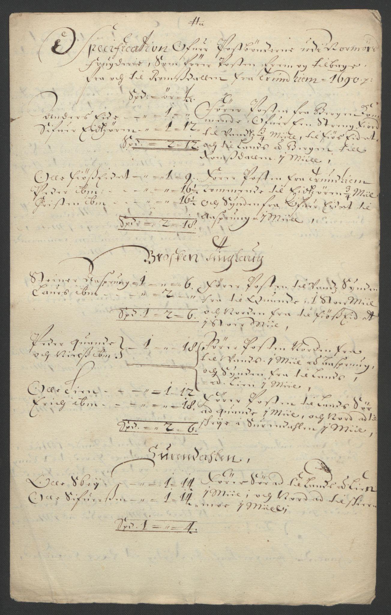RA, Rentekammeret inntil 1814, Reviderte regnskaper, Fogderegnskap, R56/L3734: Fogderegnskap Nordmøre, 1690-1691, s. 209