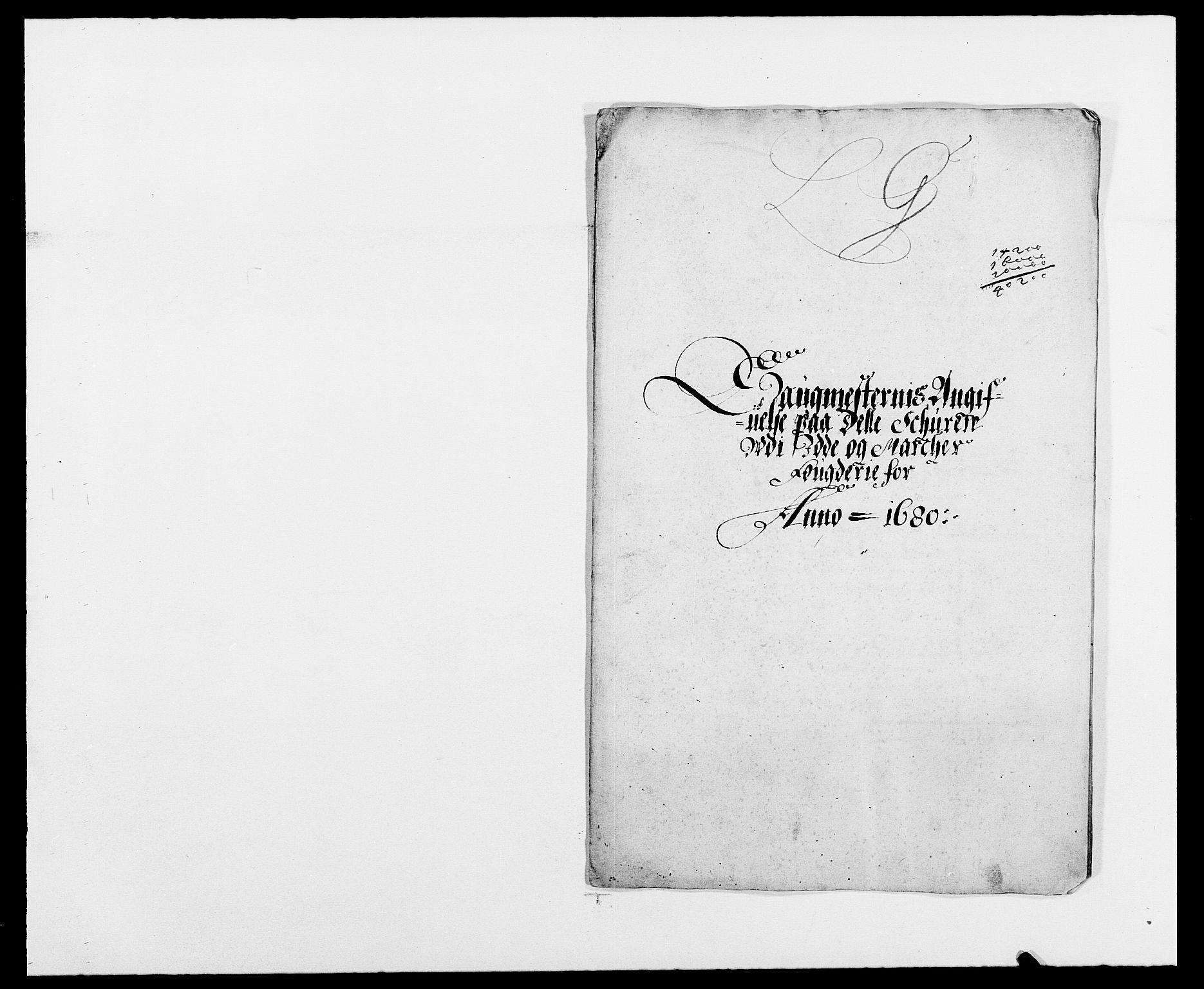 RA, Rentekammeret inntil 1814, Reviderte regnskaper, Fogderegnskap, R01/L0002: Fogderegnskap Idd og Marker, 1680-1681, s. 203