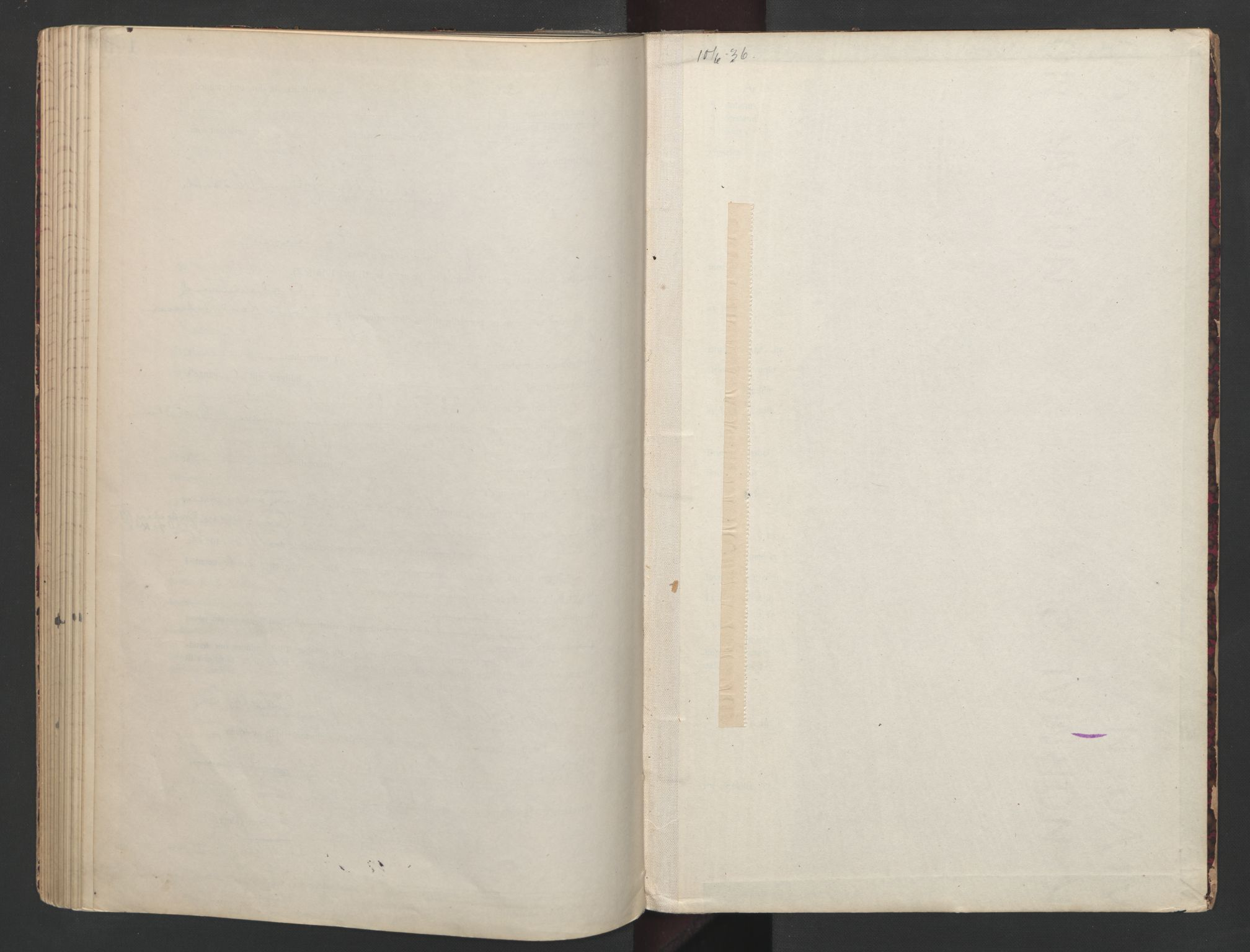 SAO, Aker sorenskriveri, L/Lc/Lcb/L0008: Vigselprotokoll, 1935-1936, s. upaginert