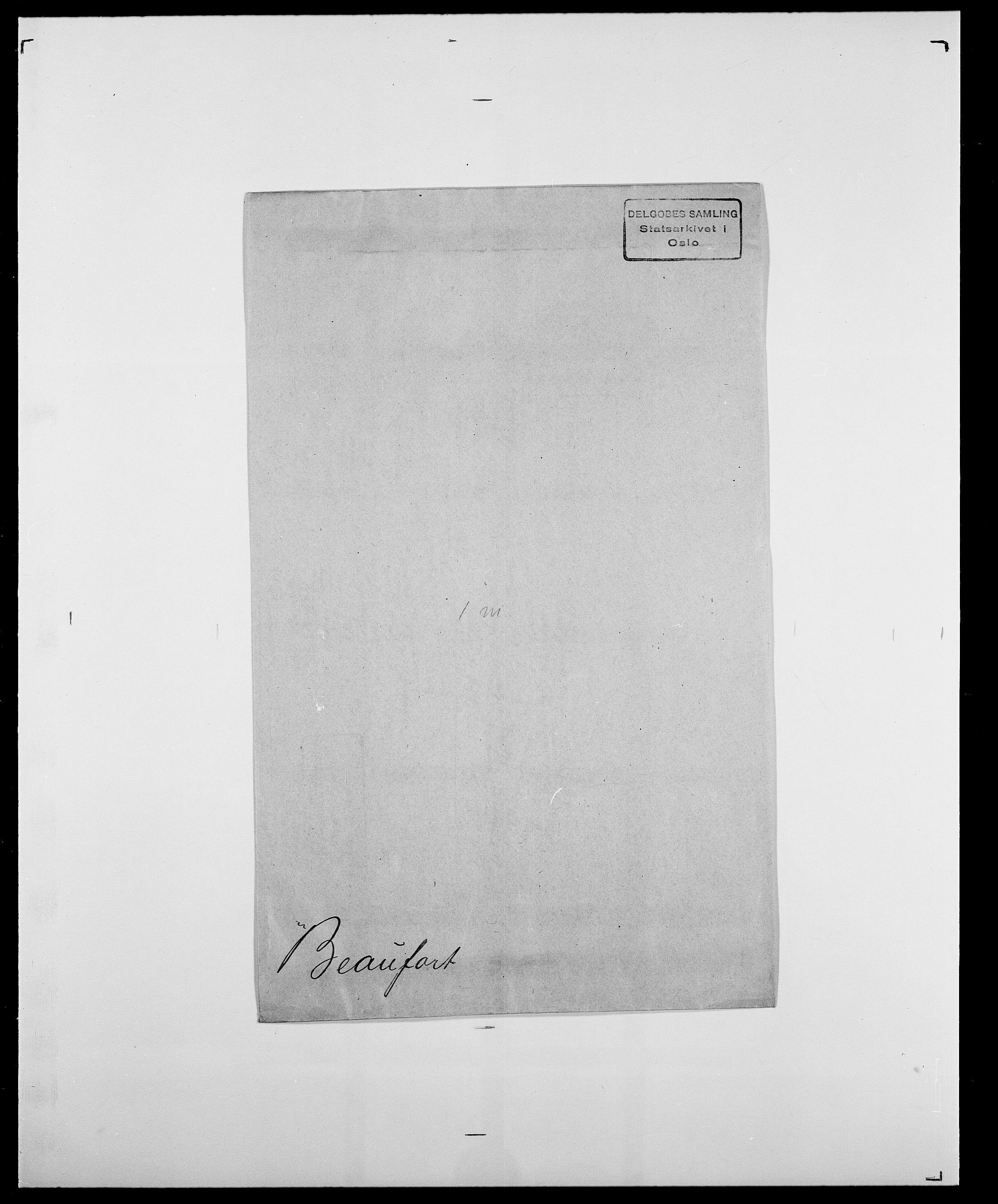 SAO, Delgobe, Charles Antoine - samling, D/Da/L0003: Barca - Bergen, s. 531