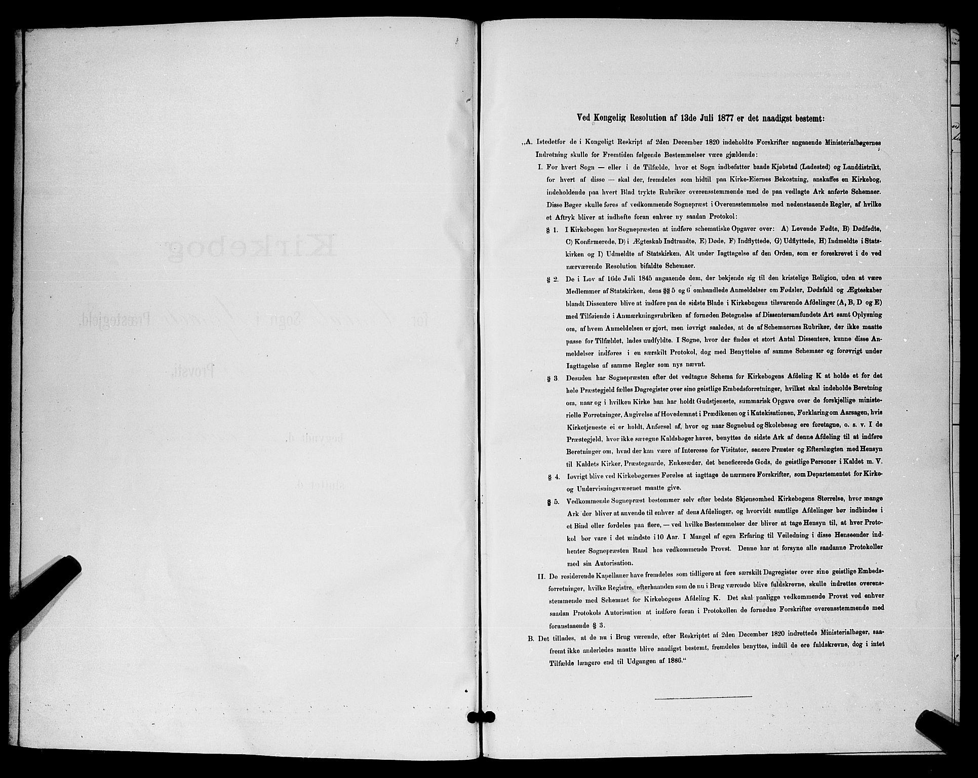 SAKO, Hjartdal kirkebøker, G/Ga/L0003: Klokkerbok nr. I 3, 1889-1896
