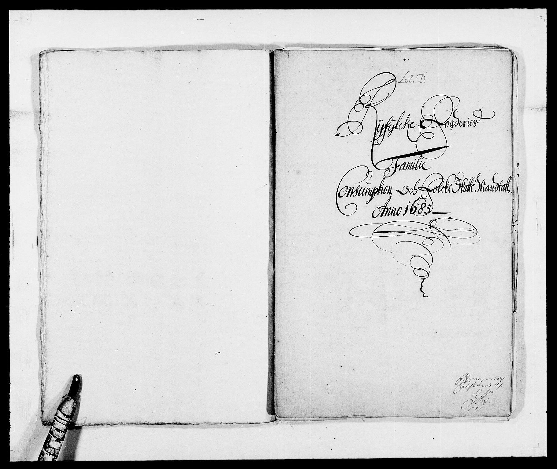RA, Rentekammeret inntil 1814, Reviderte regnskaper, Fogderegnskap, R47/L2855: Fogderegnskap Ryfylke, 1685-1688, s. 62