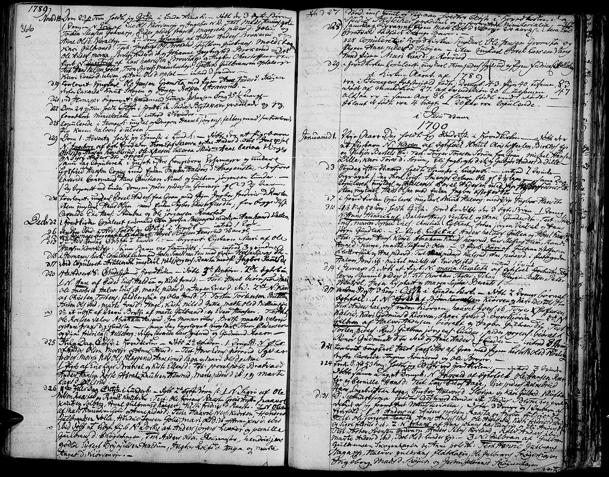 SAH, Jevnaker prestekontor, Ministerialbok nr. 3, 1752-1799, s. 366-367