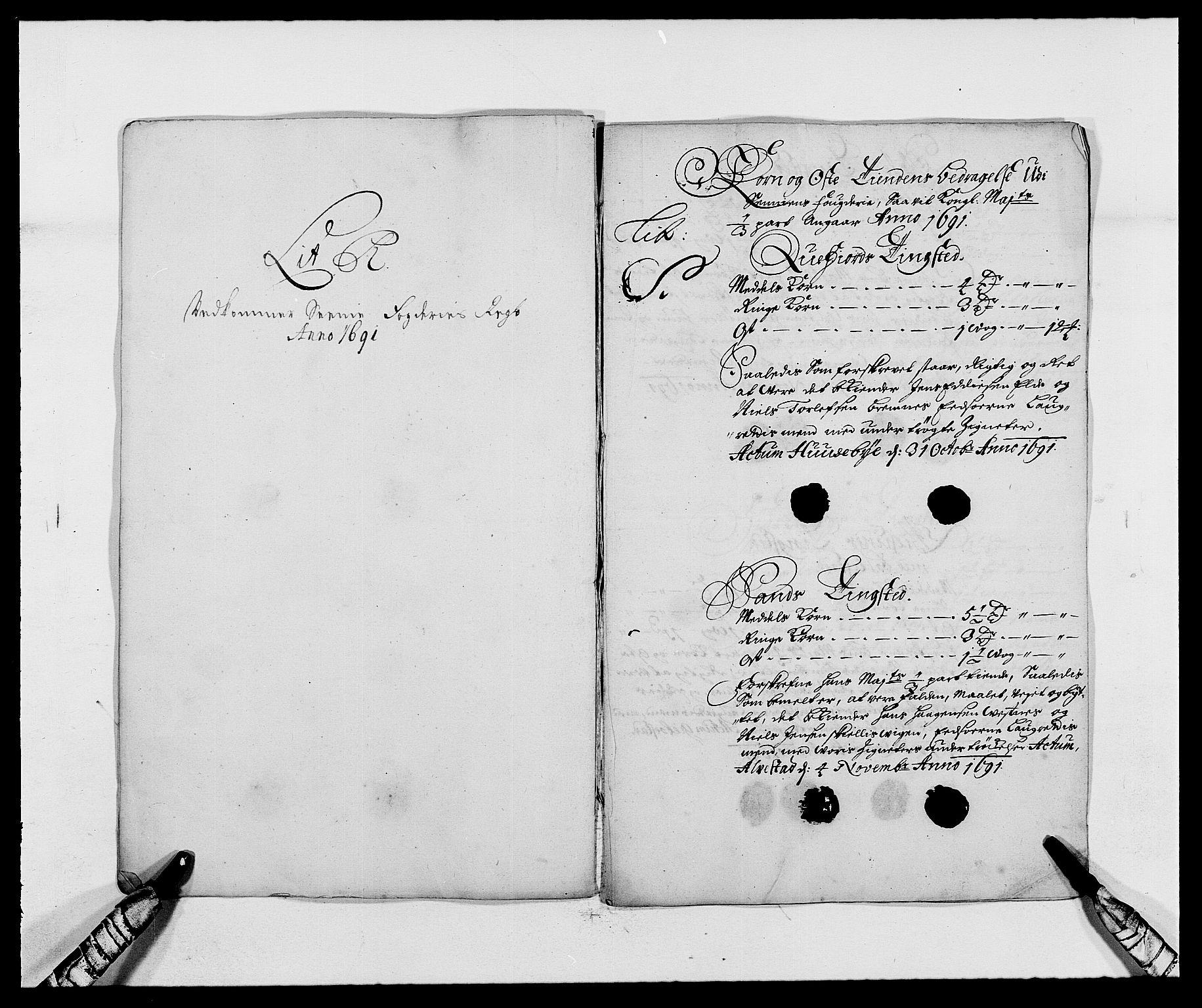 RA, Rentekammeret inntil 1814, Reviderte regnskaper, Fogderegnskap, R68/L4752: Fogderegnskap Senja og Troms, 1691-1693, s. 127