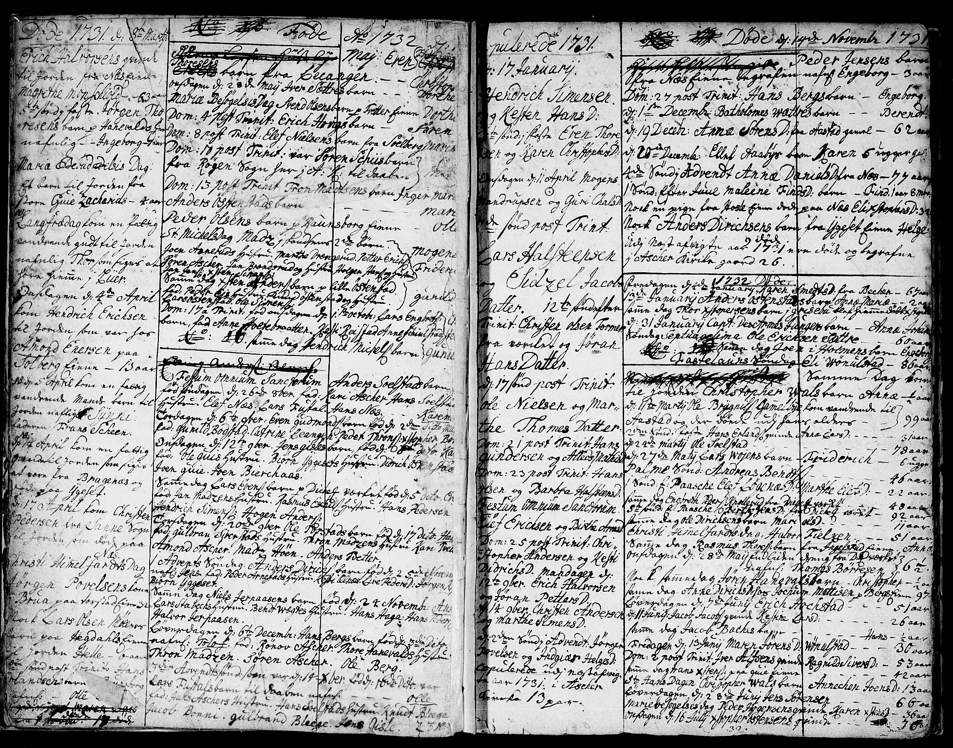 SAO, Asker prestekontor Kirkebøker, F/Fa/L0001: Ministerialbok nr. I 1, 1726-1744, s. 7