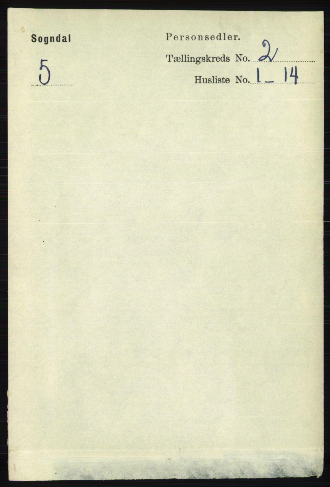 RA, Folketelling 1891 for 1111 Sokndal herred, 1891, s. 465