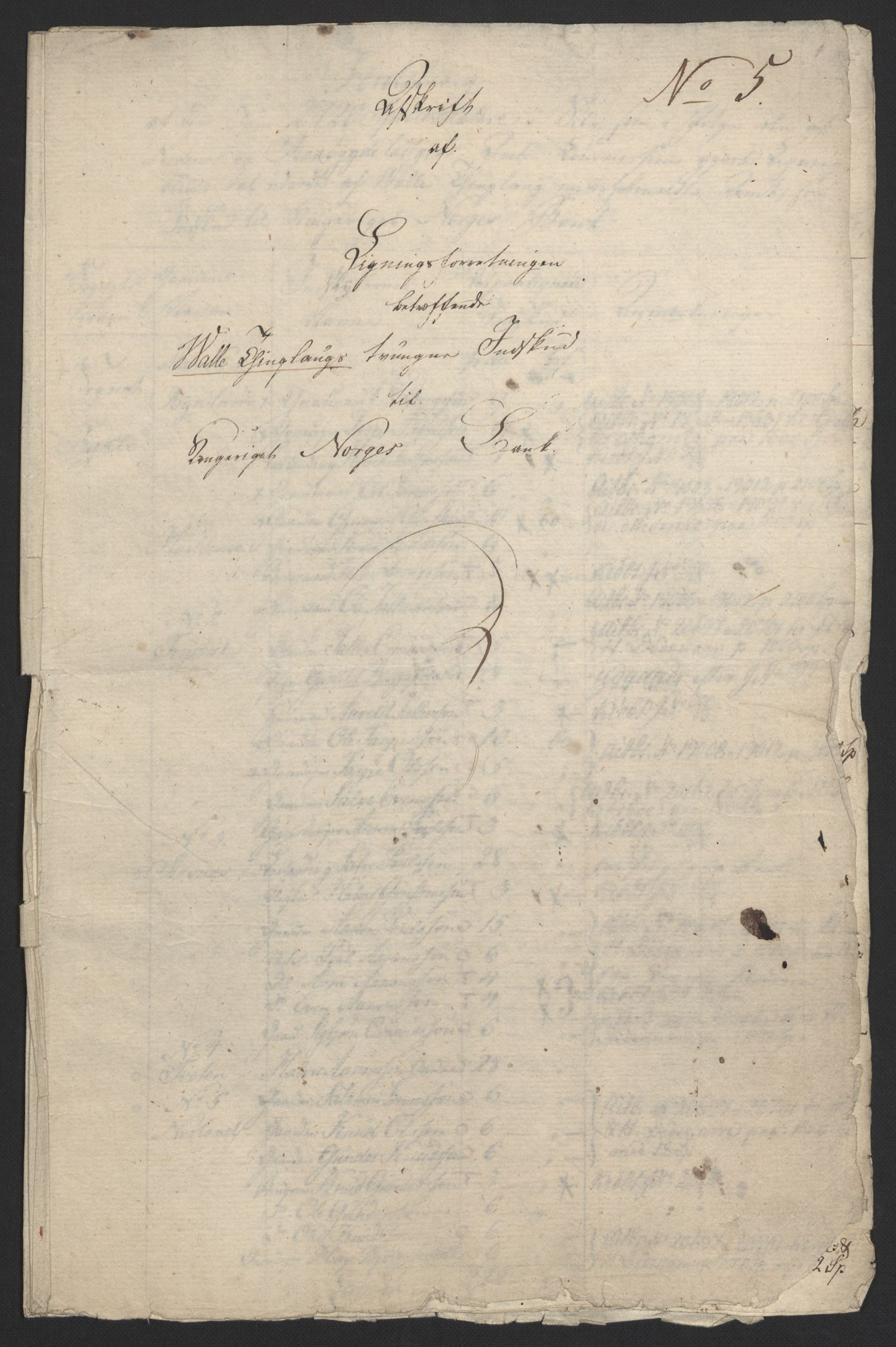 NOBA, Norges Bank/Sølvskatten 1816*, 1816-1823, s. 35