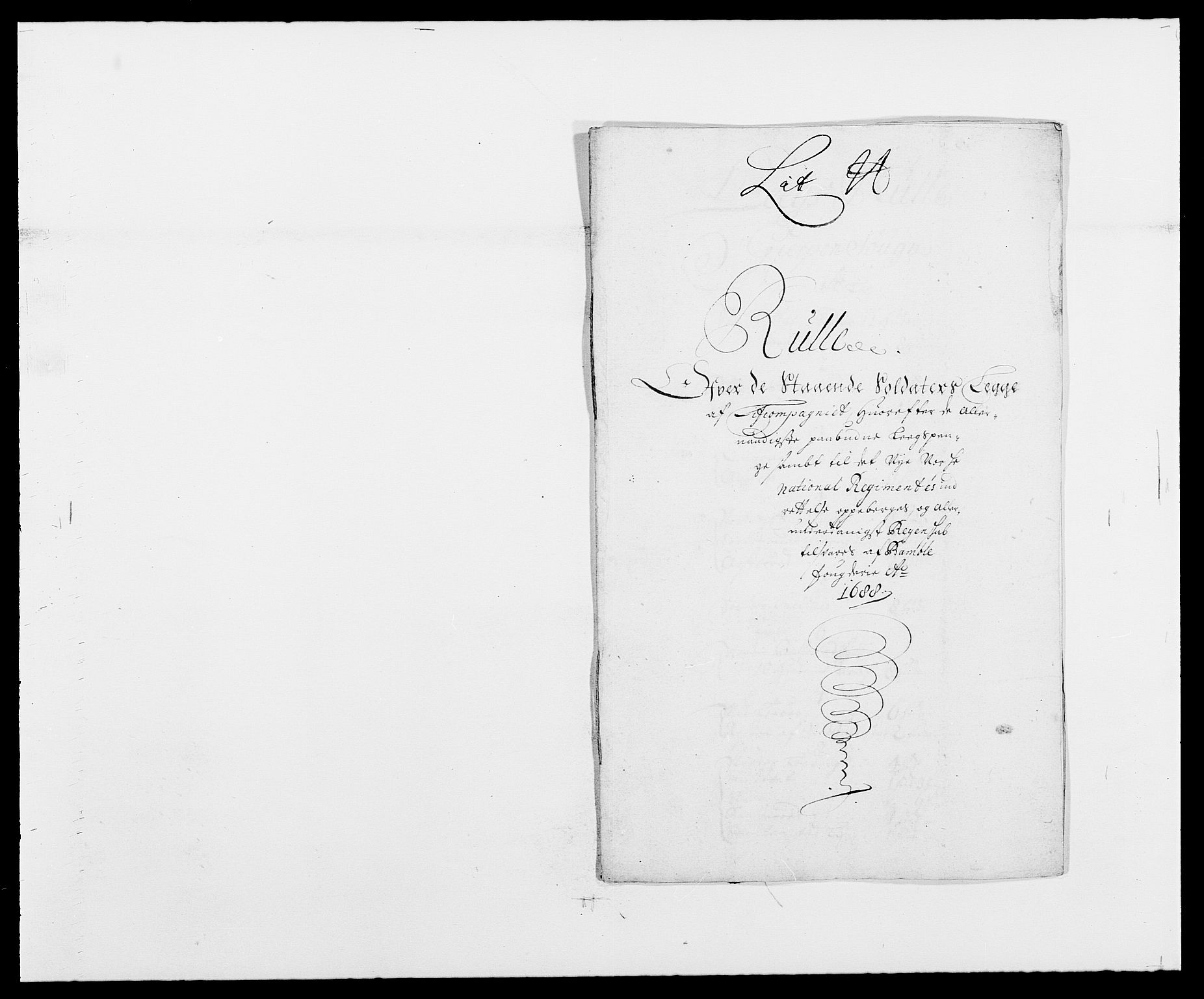 RA, Rentekammeret inntil 1814, Reviderte regnskaper, Fogderegnskap, R34/L2050: Fogderegnskap Bamble, 1688-1691, s. 131
