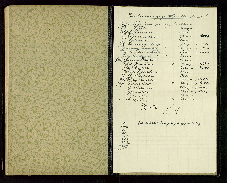 SAST, PA 1534 - Østlandske Petroleumscompagni A/S, A/Aa/L0004: Direksjonsprotokoller, 1924-1928, s. upaginert