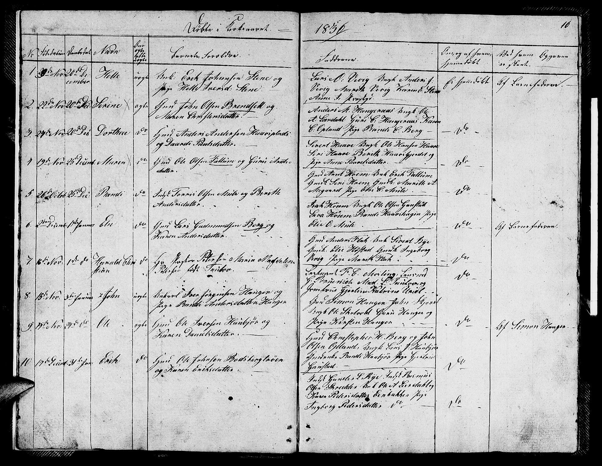 SAT, Ministerialprotokoller, klokkerbøker og fødselsregistre - Sør-Trøndelag, 612/L0386: Klokkerbok nr. 612C02, 1834-1845, s. 16